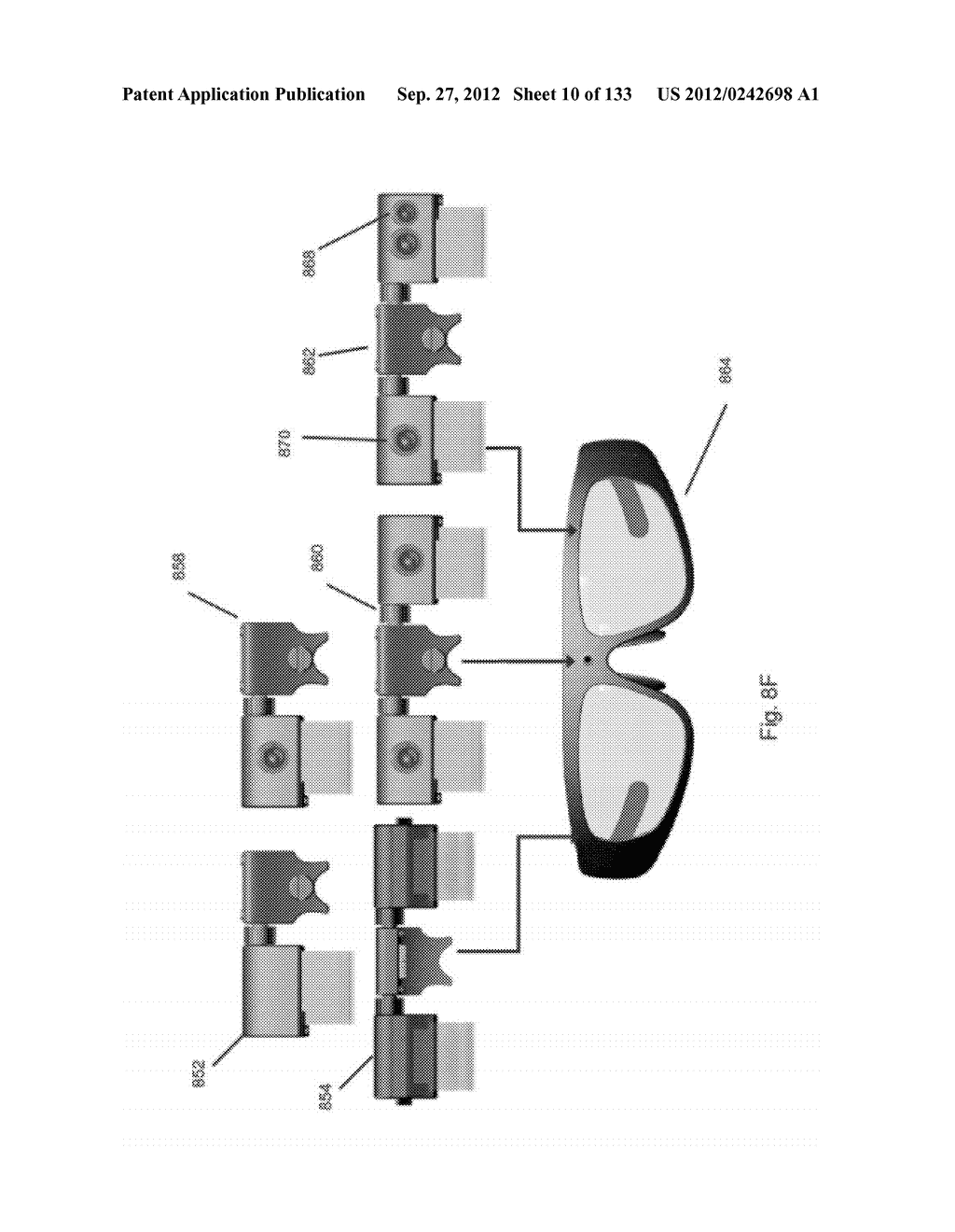 SEE-THROUGH NEAR-EYE DISPLAY GLASSES WITH A MULTI-SEGMENT     PROCESSOR-CONTROLLED OPTICAL LAYER - diagram, schematic, and image 11