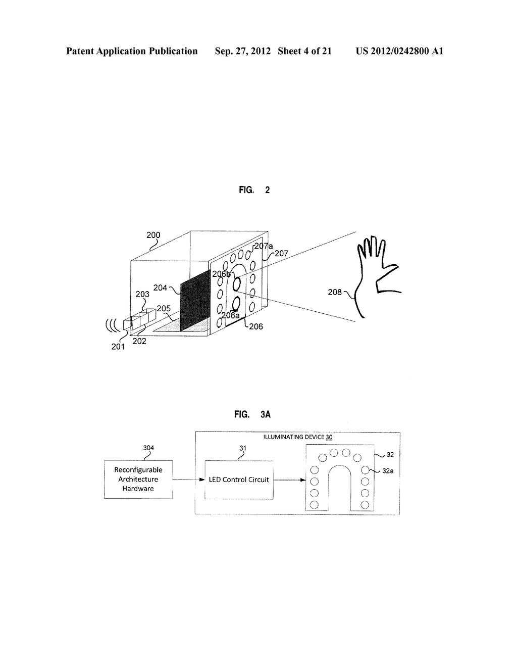 APPARATUS AND SYSTEM FOR INTERFACING WITH COMPUTERS AND OTHER ELECTRONIC     DEVICES THROUGH GESTURES BY USING DEPTH SENSING AND METHODS OF USE - diagram, schematic, and image 05