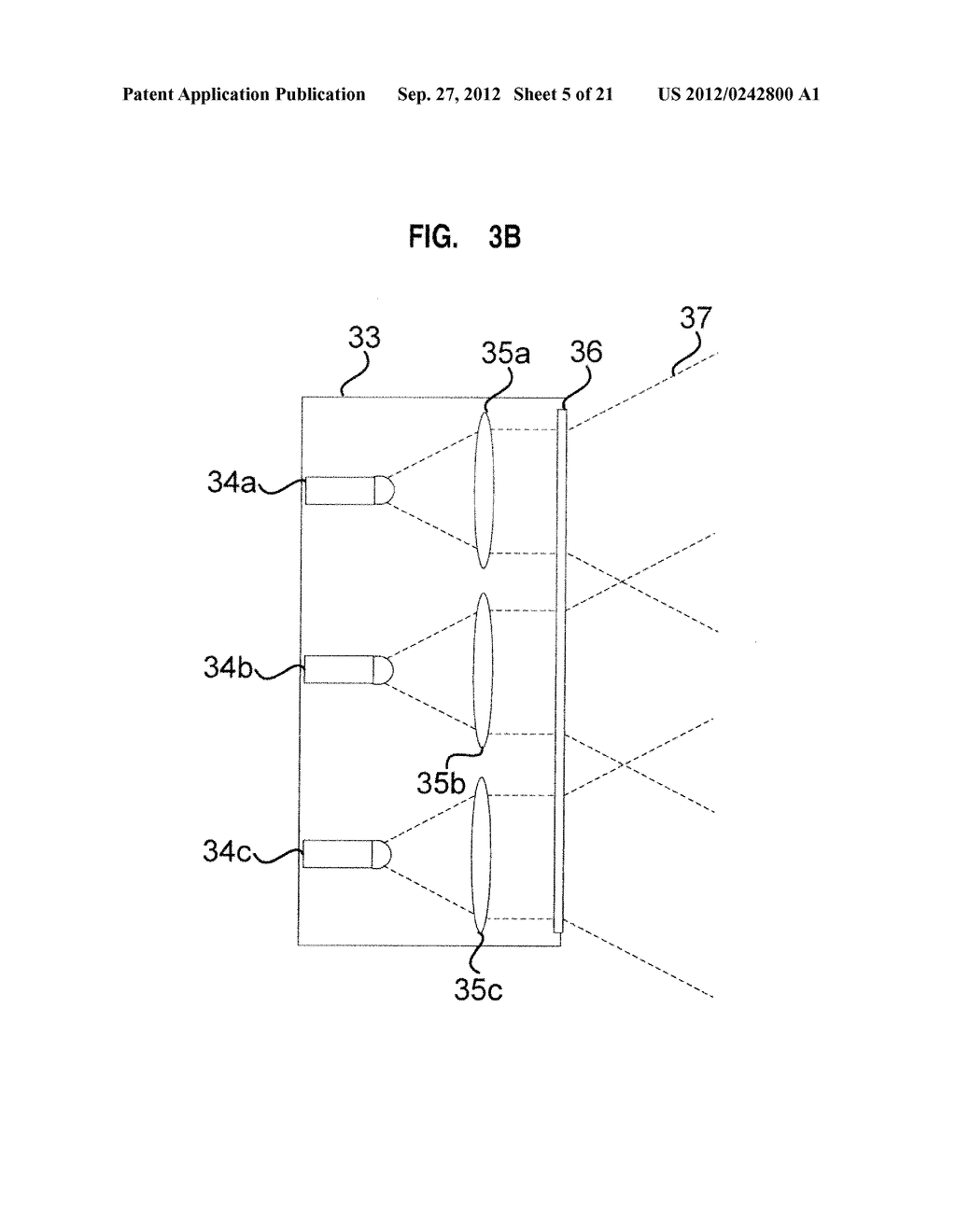 APPARATUS AND SYSTEM FOR INTERFACING WITH COMPUTERS AND OTHER ELECTRONIC     DEVICES THROUGH GESTURES BY USING DEPTH SENSING AND METHODS OF USE - diagram, schematic, and image 06