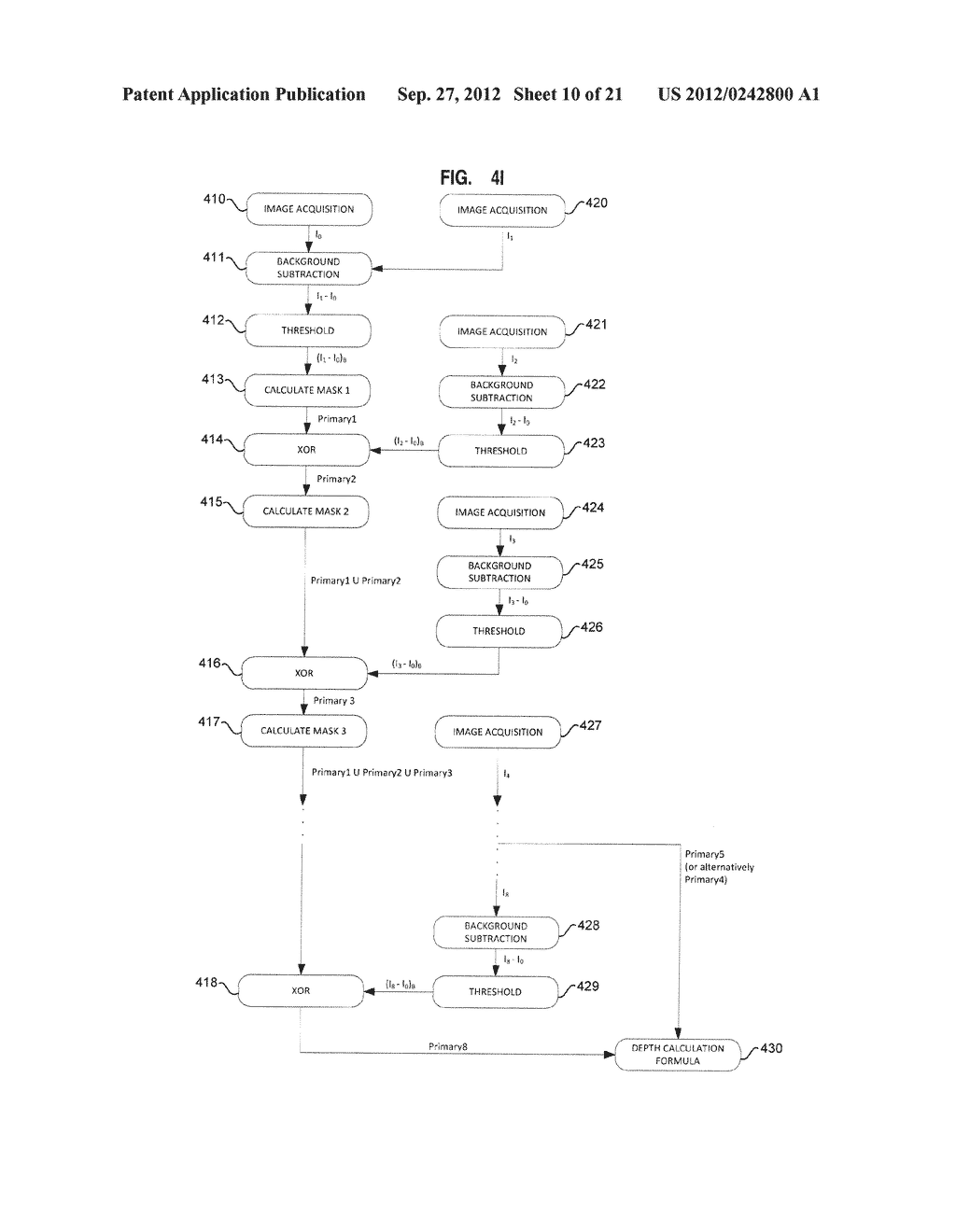 APPARATUS AND SYSTEM FOR INTERFACING WITH COMPUTERS AND OTHER ELECTRONIC     DEVICES THROUGH GESTURES BY USING DEPTH SENSING AND METHODS OF USE - diagram, schematic, and image 11