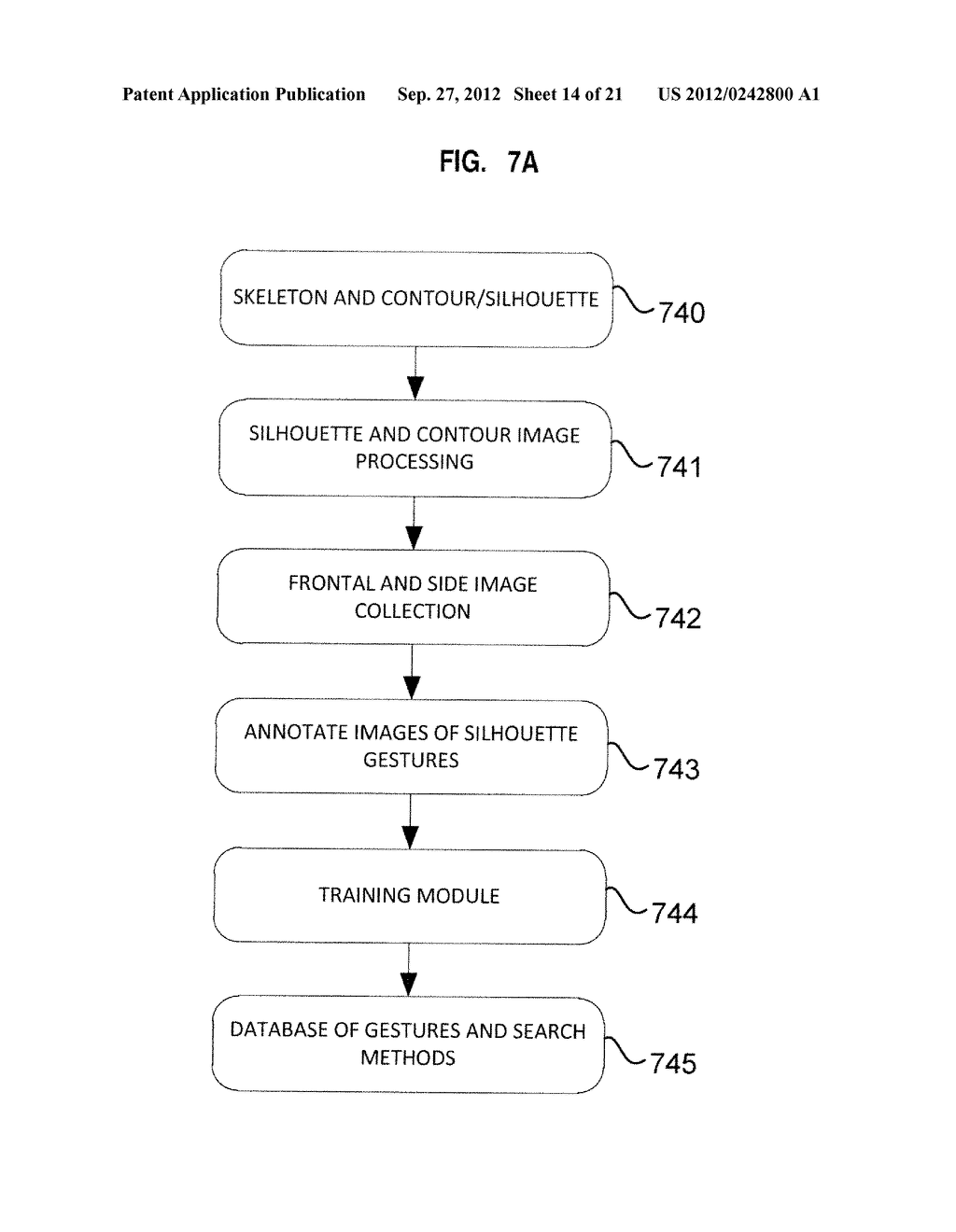 APPARATUS AND SYSTEM FOR INTERFACING WITH COMPUTERS AND OTHER ELECTRONIC     DEVICES THROUGH GESTURES BY USING DEPTH SENSING AND METHODS OF USE - diagram, schematic, and image 15
