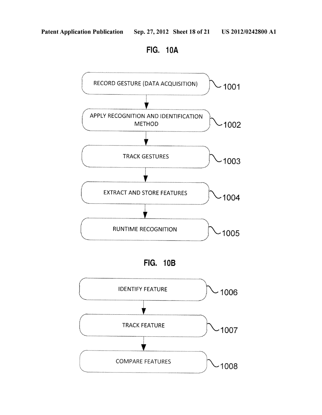 APPARATUS AND SYSTEM FOR INTERFACING WITH COMPUTERS AND OTHER ELECTRONIC     DEVICES THROUGH GESTURES BY USING DEPTH SENSING AND METHODS OF USE - diagram, schematic, and image 19