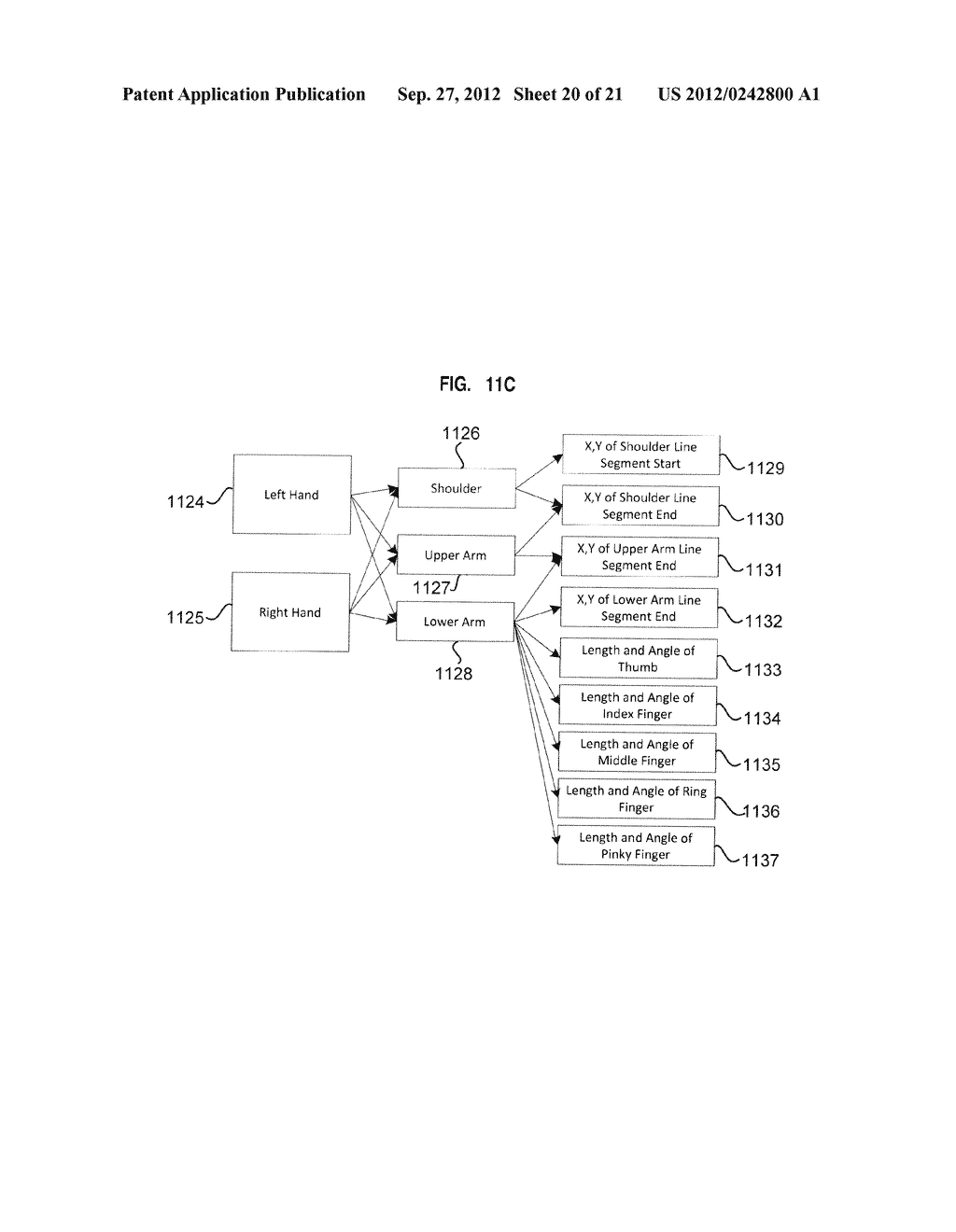 APPARATUS AND SYSTEM FOR INTERFACING WITH COMPUTERS AND OTHER ELECTRONIC     DEVICES THROUGH GESTURES BY USING DEPTH SENSING AND METHODS OF USE - diagram, schematic, and image 21