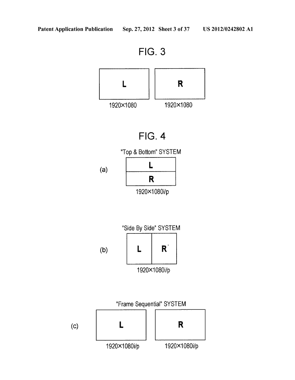 STEREOSCOPIC IMAGE DATA TRANSMISSION DEVICE, STEREOSCOPIC IMAGE DATA     TRANSMISSION METHOD, STEREOSCOPIC IMAGE DATA RECEPTION DEVICE, AND     STEREOSCOPIC IMAGE DATA RECEPTION METHOD - diagram, schematic, and image 04
