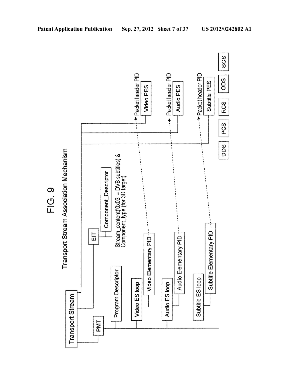 STEREOSCOPIC IMAGE DATA TRANSMISSION DEVICE, STEREOSCOPIC IMAGE DATA     TRANSMISSION METHOD, STEREOSCOPIC IMAGE DATA RECEPTION DEVICE, AND     STEREOSCOPIC IMAGE DATA RECEPTION METHOD - diagram, schematic, and image 08