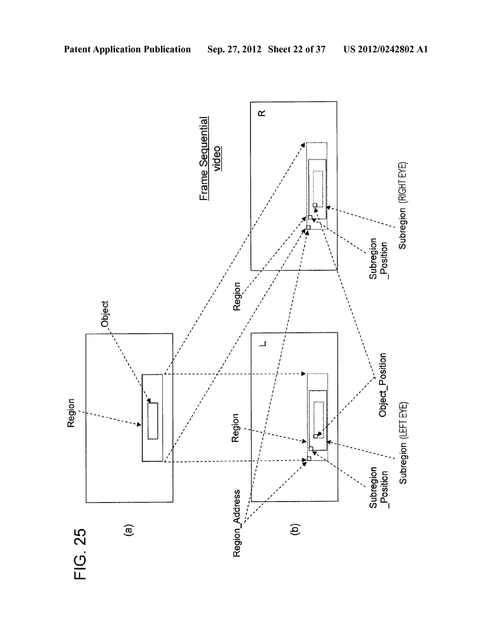 STEREOSCOPIC IMAGE DATA TRANSMISSION DEVICE, STEREOSCOPIC IMAGE DATA     TRANSMISSION METHOD, STEREOSCOPIC IMAGE DATA RECEPTION DEVICE, AND     STEREOSCOPIC IMAGE DATA RECEPTION METHOD - diagram, schematic, and image 23