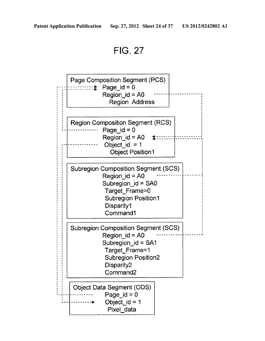 STEREOSCOPIC IMAGE DATA TRANSMISSION DEVICE, STEREOSCOPIC IMAGE DATA     TRANSMISSION METHOD, STEREOSCOPIC IMAGE DATA RECEPTION DEVICE, AND     STEREOSCOPIC IMAGE DATA RECEPTION METHOD - diagram, schematic, and image 25