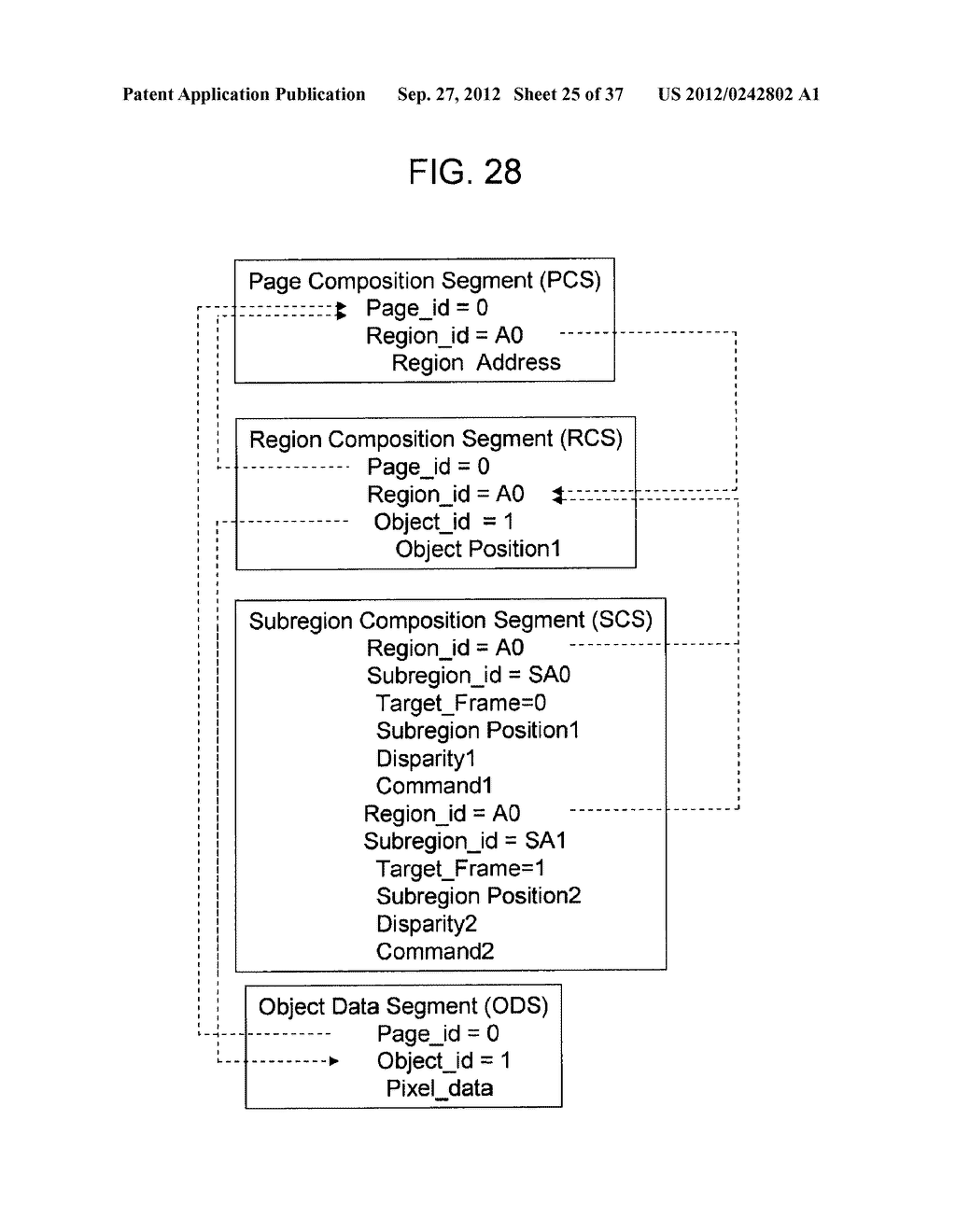 STEREOSCOPIC IMAGE DATA TRANSMISSION DEVICE, STEREOSCOPIC IMAGE DATA     TRANSMISSION METHOD, STEREOSCOPIC IMAGE DATA RECEPTION DEVICE, AND     STEREOSCOPIC IMAGE DATA RECEPTION METHOD - diagram, schematic, and image 26