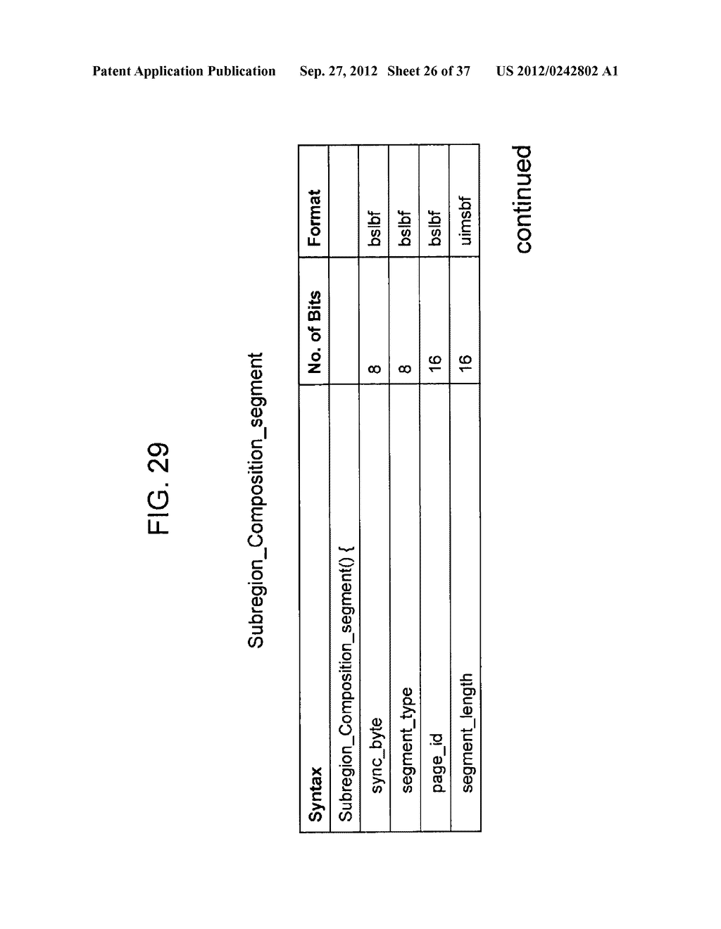 STEREOSCOPIC IMAGE DATA TRANSMISSION DEVICE, STEREOSCOPIC IMAGE DATA     TRANSMISSION METHOD, STEREOSCOPIC IMAGE DATA RECEPTION DEVICE, AND     STEREOSCOPIC IMAGE DATA RECEPTION METHOD - diagram, schematic, and image 27