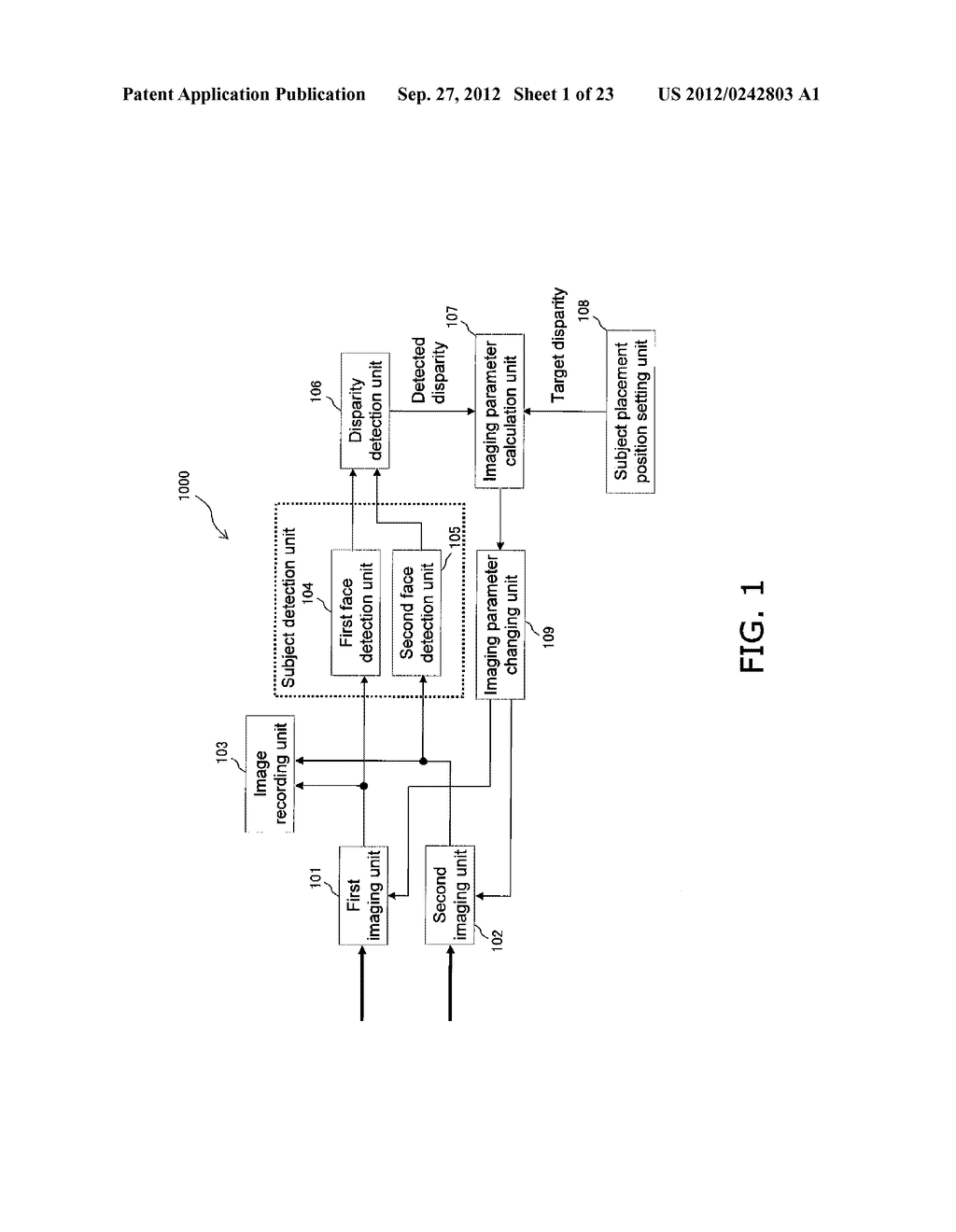 STEREO IMAGE CAPTURING DEVICE, STEREO IMAGE CAPTURING METHOD, STEREO IMAGE     DISPLAY DEVICE, AND PROGRAM - diagram, schematic, and image 02