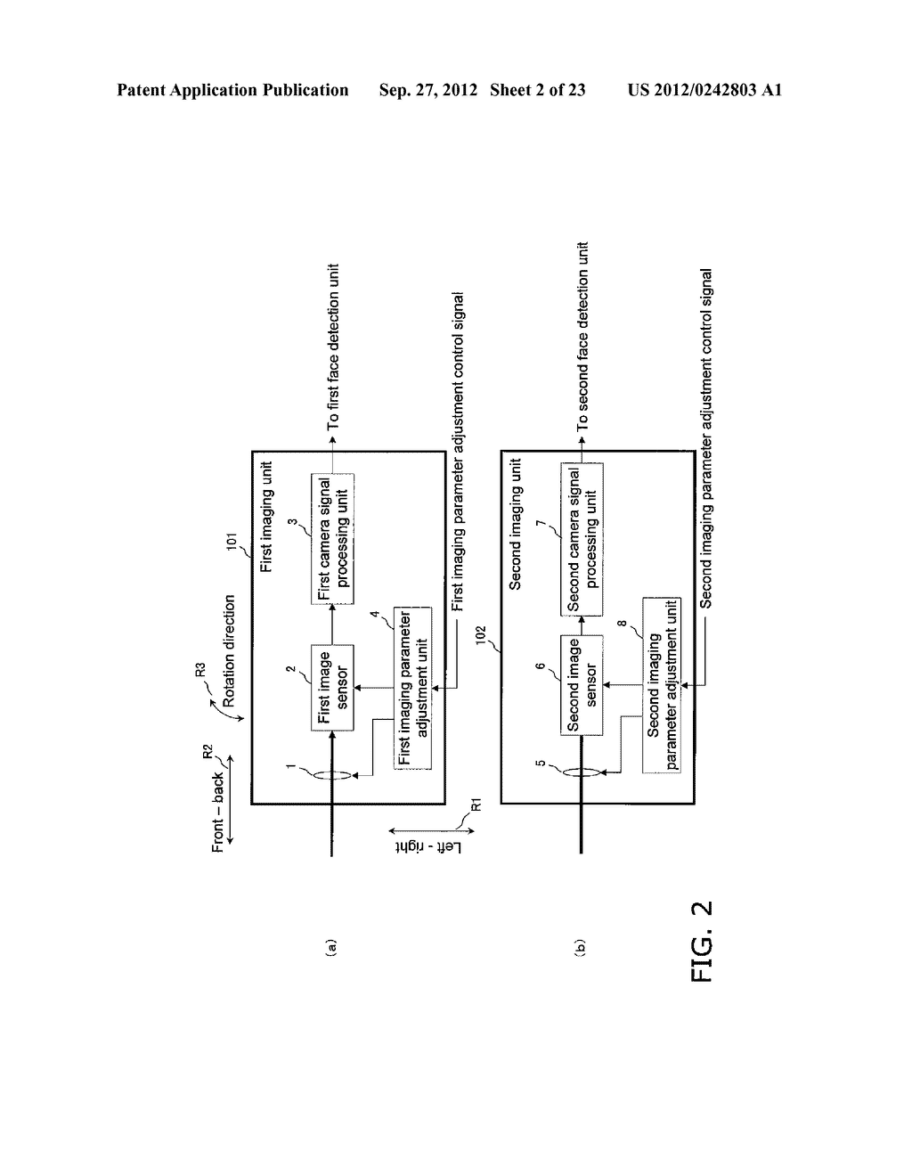 STEREO IMAGE CAPTURING DEVICE, STEREO IMAGE CAPTURING METHOD, STEREO IMAGE     DISPLAY DEVICE, AND PROGRAM - diagram, schematic, and image 03