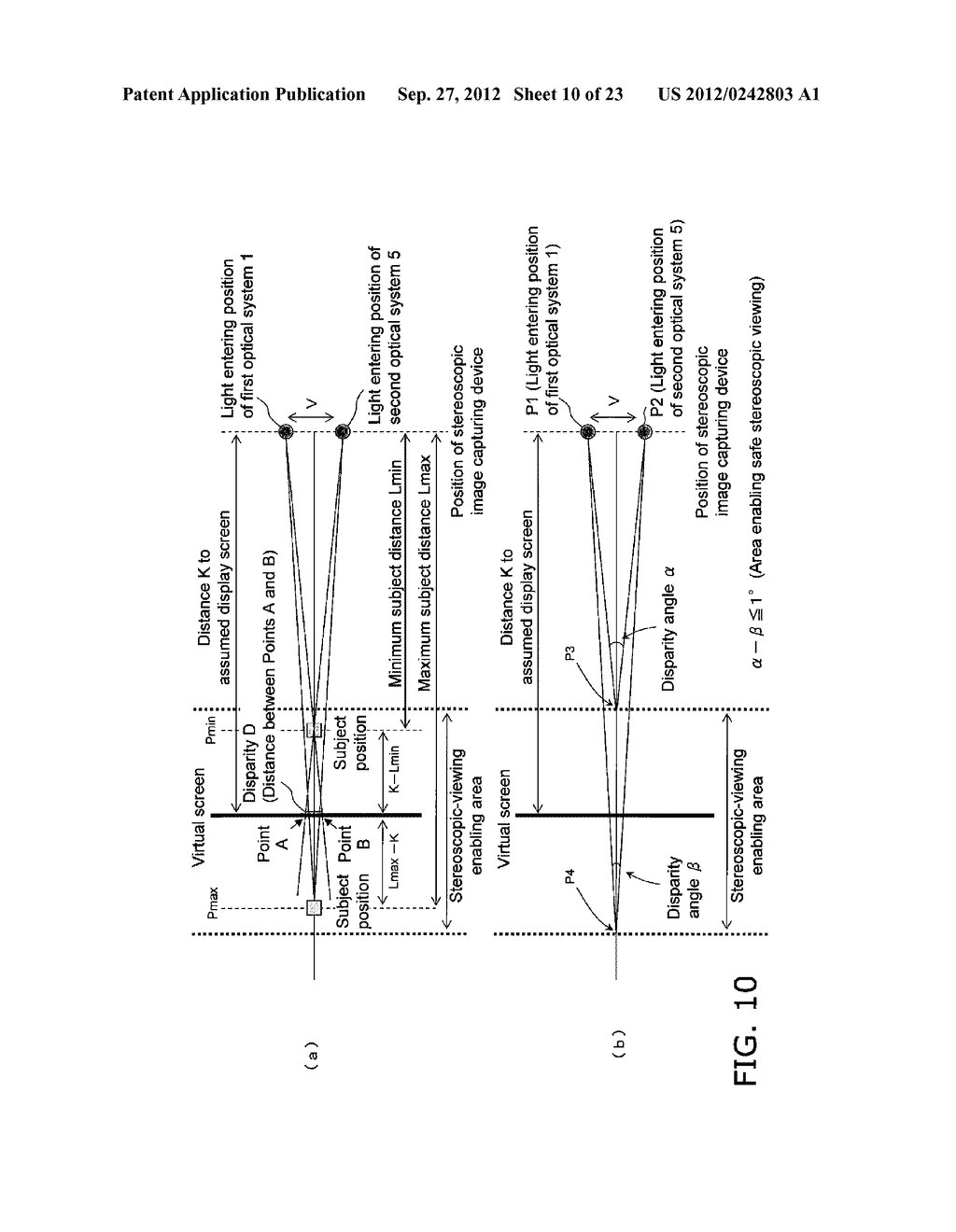 STEREO IMAGE CAPTURING DEVICE, STEREO IMAGE CAPTURING METHOD, STEREO IMAGE     DISPLAY DEVICE, AND PROGRAM - diagram, schematic, and image 11