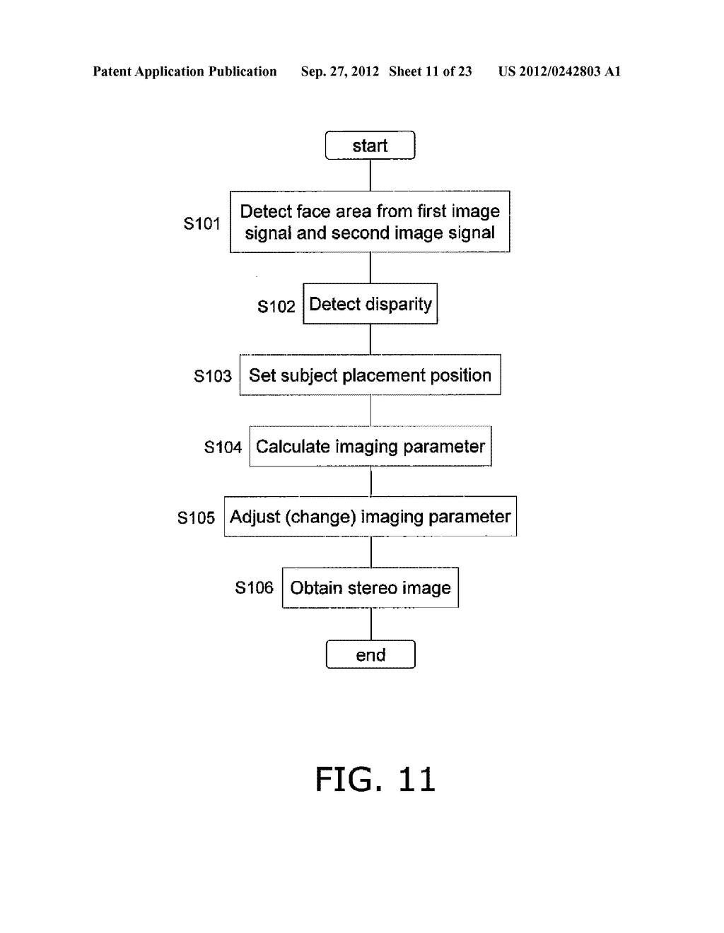 STEREO IMAGE CAPTURING DEVICE, STEREO IMAGE CAPTURING METHOD, STEREO IMAGE     DISPLAY DEVICE, AND PROGRAM - diagram, schematic, and image 12