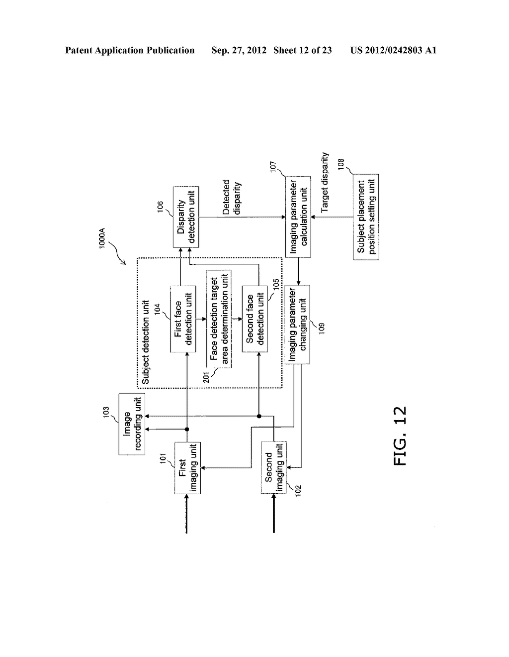 STEREO IMAGE CAPTURING DEVICE, STEREO IMAGE CAPTURING METHOD, STEREO IMAGE     DISPLAY DEVICE, AND PROGRAM - diagram, schematic, and image 13