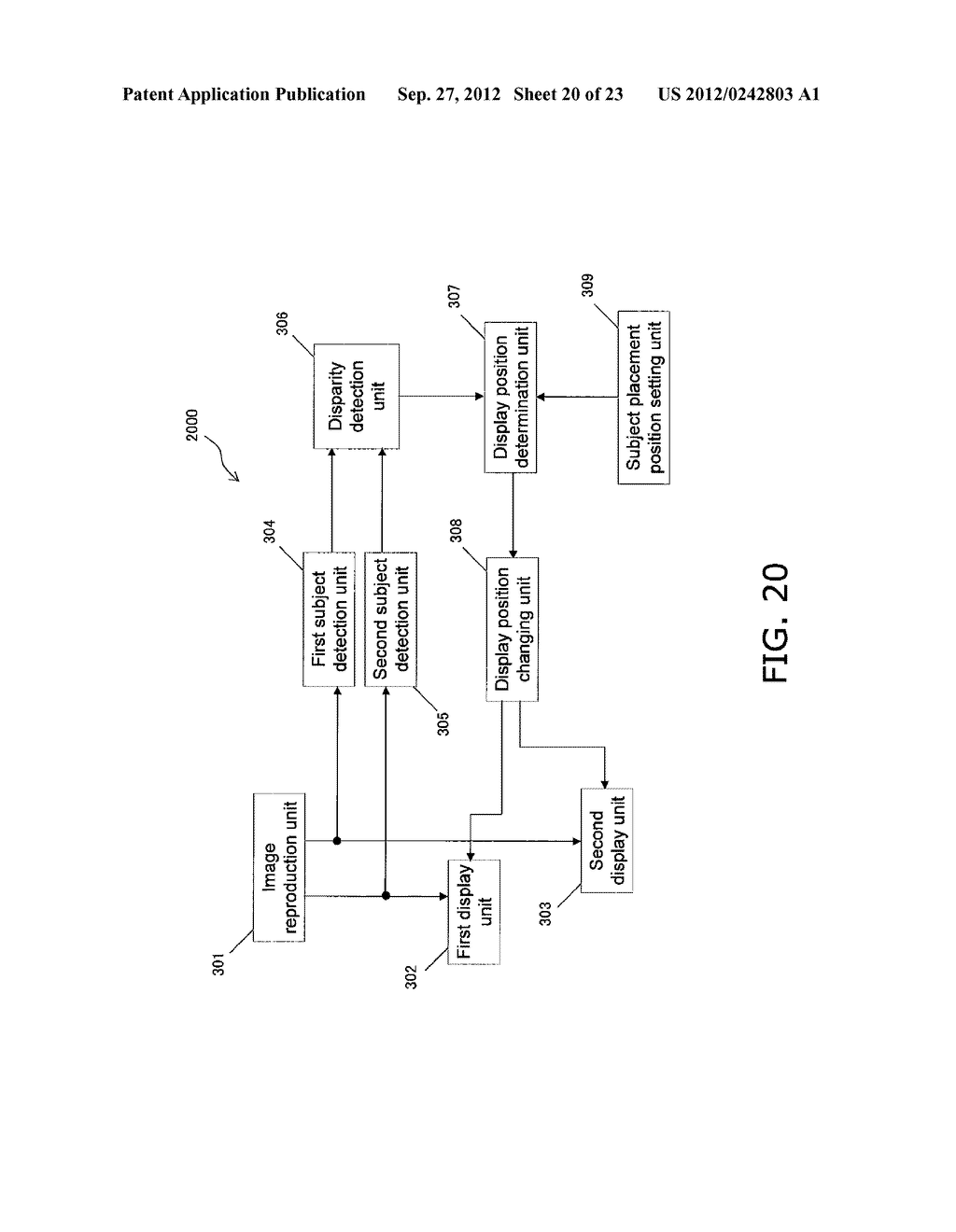 STEREO IMAGE CAPTURING DEVICE, STEREO IMAGE CAPTURING METHOD, STEREO IMAGE     DISPLAY DEVICE, AND PROGRAM - diagram, schematic, and image 21