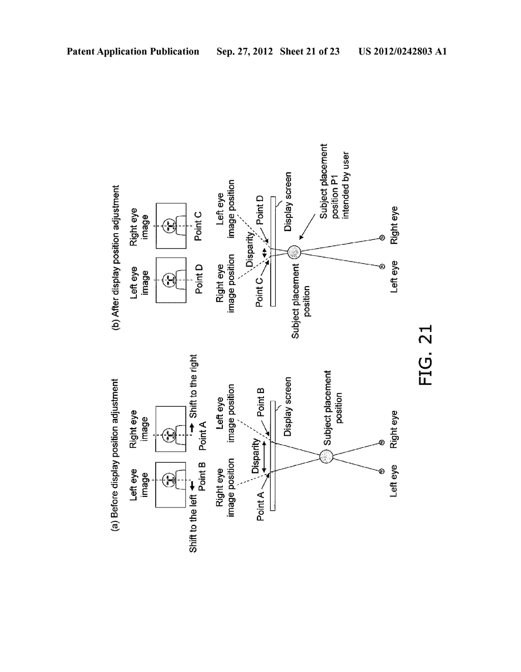 STEREO IMAGE CAPTURING DEVICE, STEREO IMAGE CAPTURING METHOD, STEREO IMAGE     DISPLAY DEVICE, AND PROGRAM - diagram, schematic, and image 22
