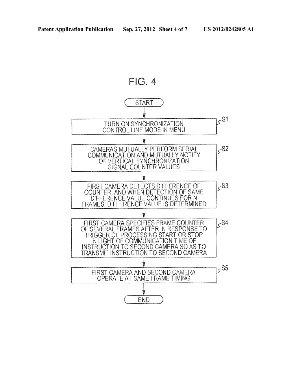 IMAGING DEVICE, SYNCHRONIZATION CONTROL METHOD, REPRODUCTION DEVICE, AND     STEREOSCOPIC VIDEO IMAGING SYSTEM - diagram, schematic, and image 05