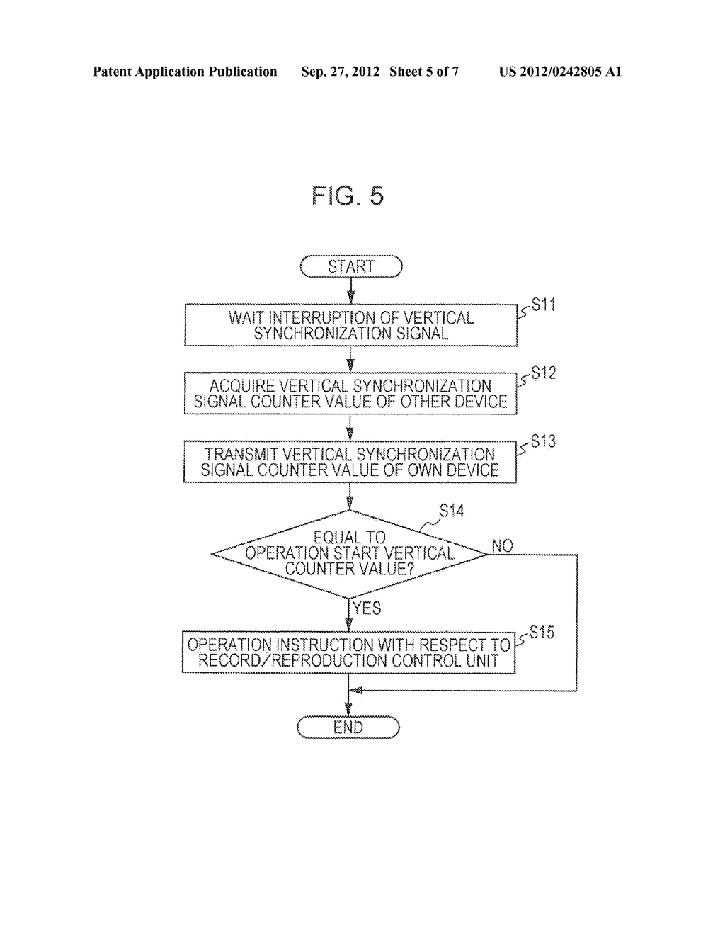 IMAGING DEVICE, SYNCHRONIZATION CONTROL METHOD, REPRODUCTION DEVICE, AND     STEREOSCOPIC VIDEO IMAGING SYSTEM - diagram, schematic, and image 06