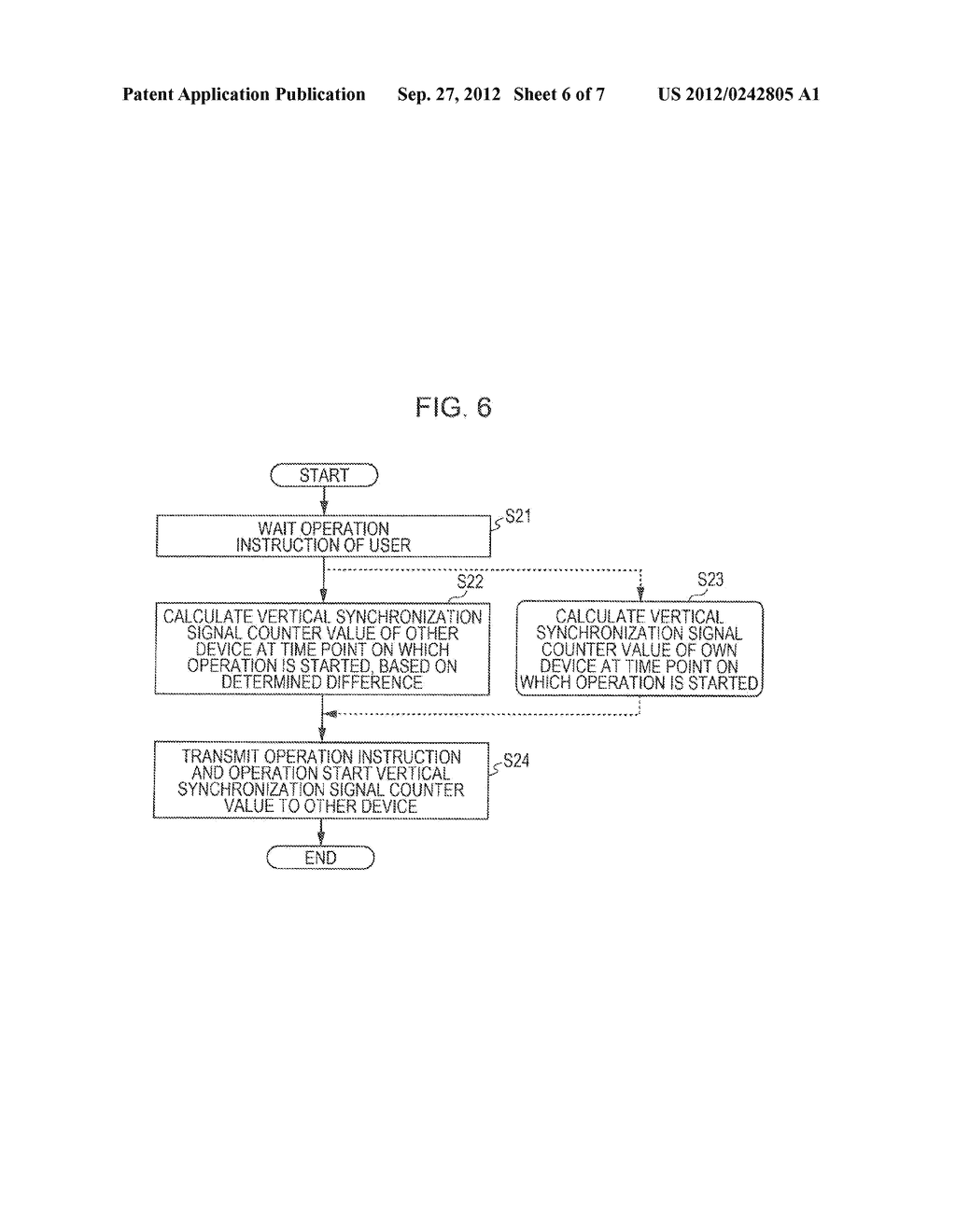 IMAGING DEVICE, SYNCHRONIZATION CONTROL METHOD, REPRODUCTION DEVICE, AND     STEREOSCOPIC VIDEO IMAGING SYSTEM - diagram, schematic, and image 07