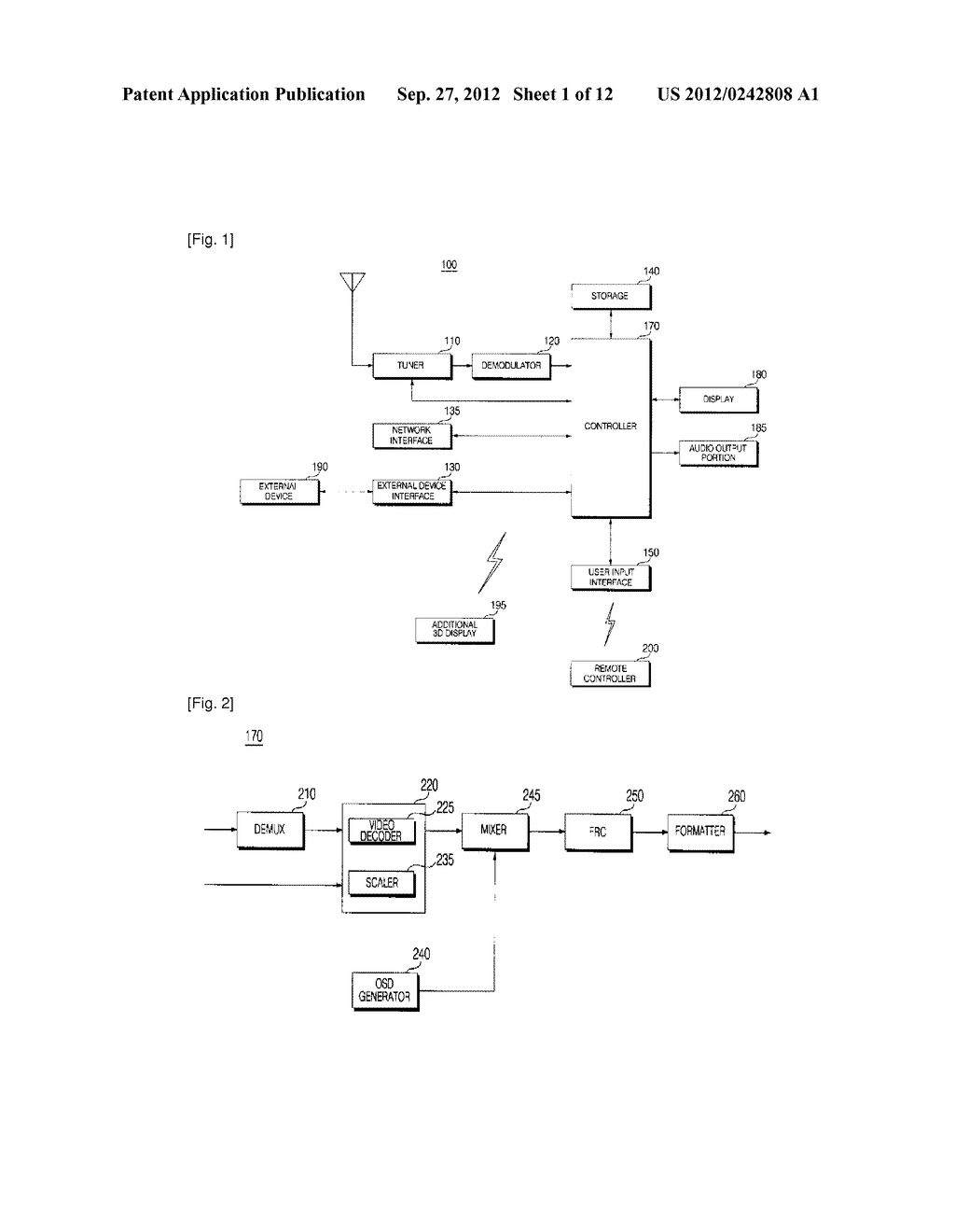IMAGE DISPLAY APPARATUS AND METHOD FOR OPERATING THE SAME - diagram, schematic, and image 02