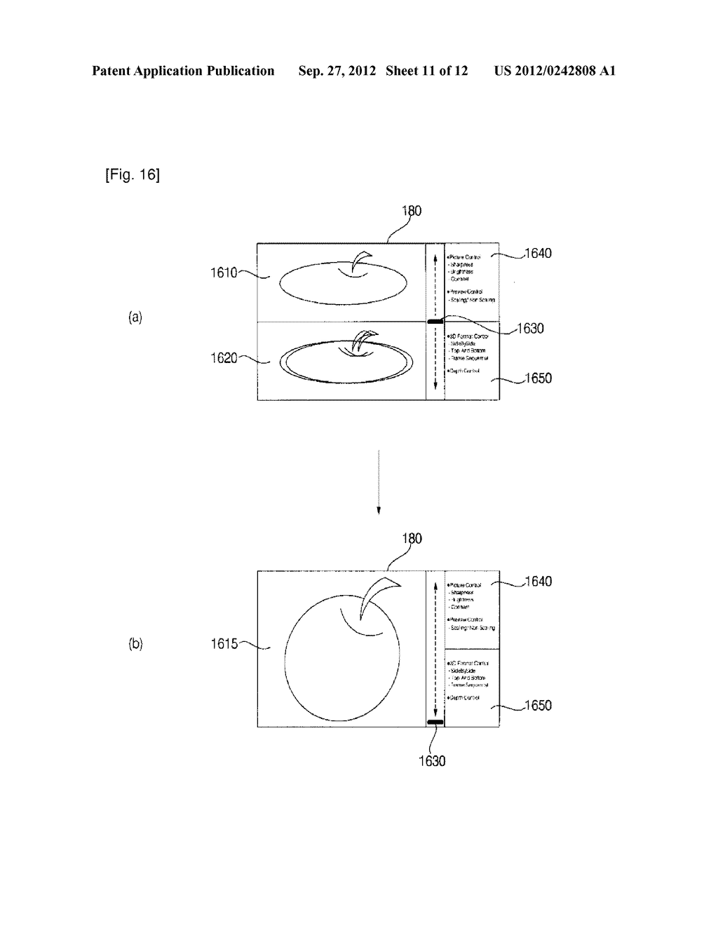 IMAGE DISPLAY APPARATUS AND METHOD FOR OPERATING THE SAME - diagram, schematic, and image 12