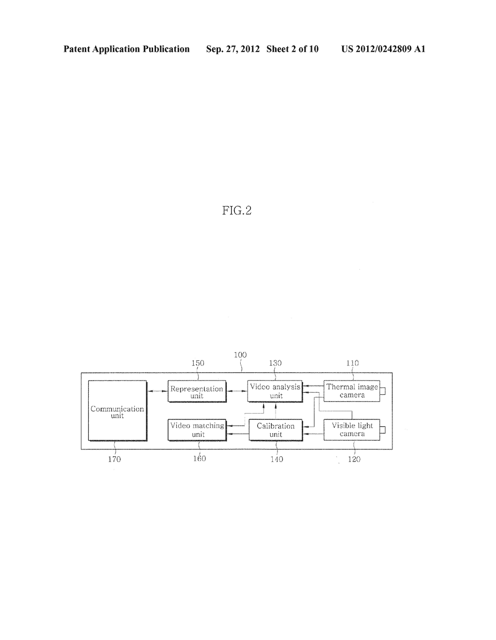 VIDEO SURVEILLANCE APPARATUS USING DUAL CAMERA AND METHOD THEREOF - diagram, schematic, and image 03