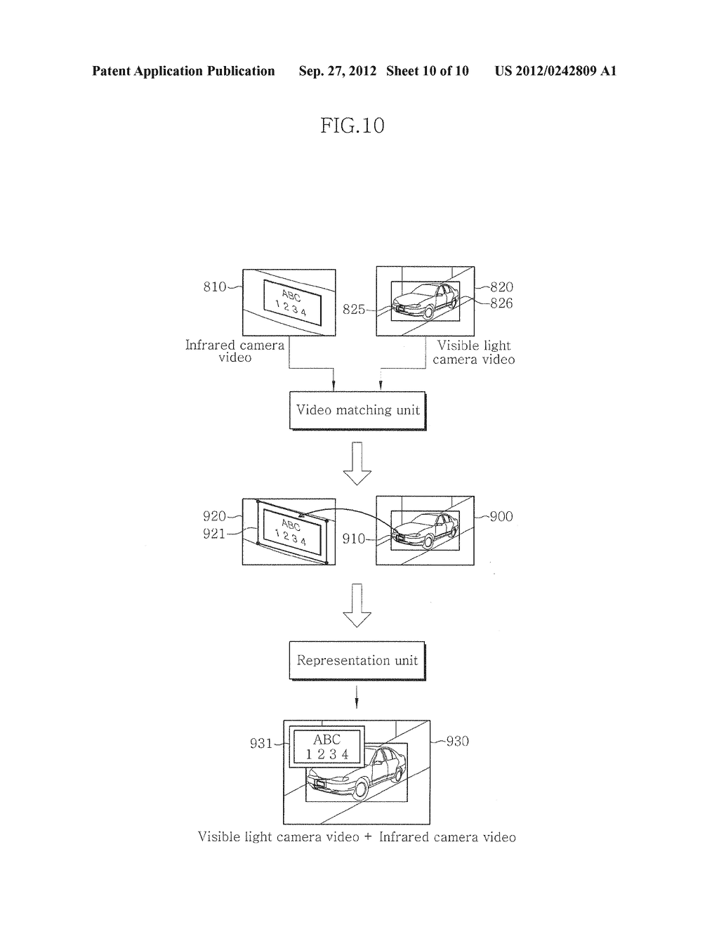 VIDEO SURVEILLANCE APPARATUS USING DUAL CAMERA AND METHOD THEREOF - diagram, schematic, and image 11