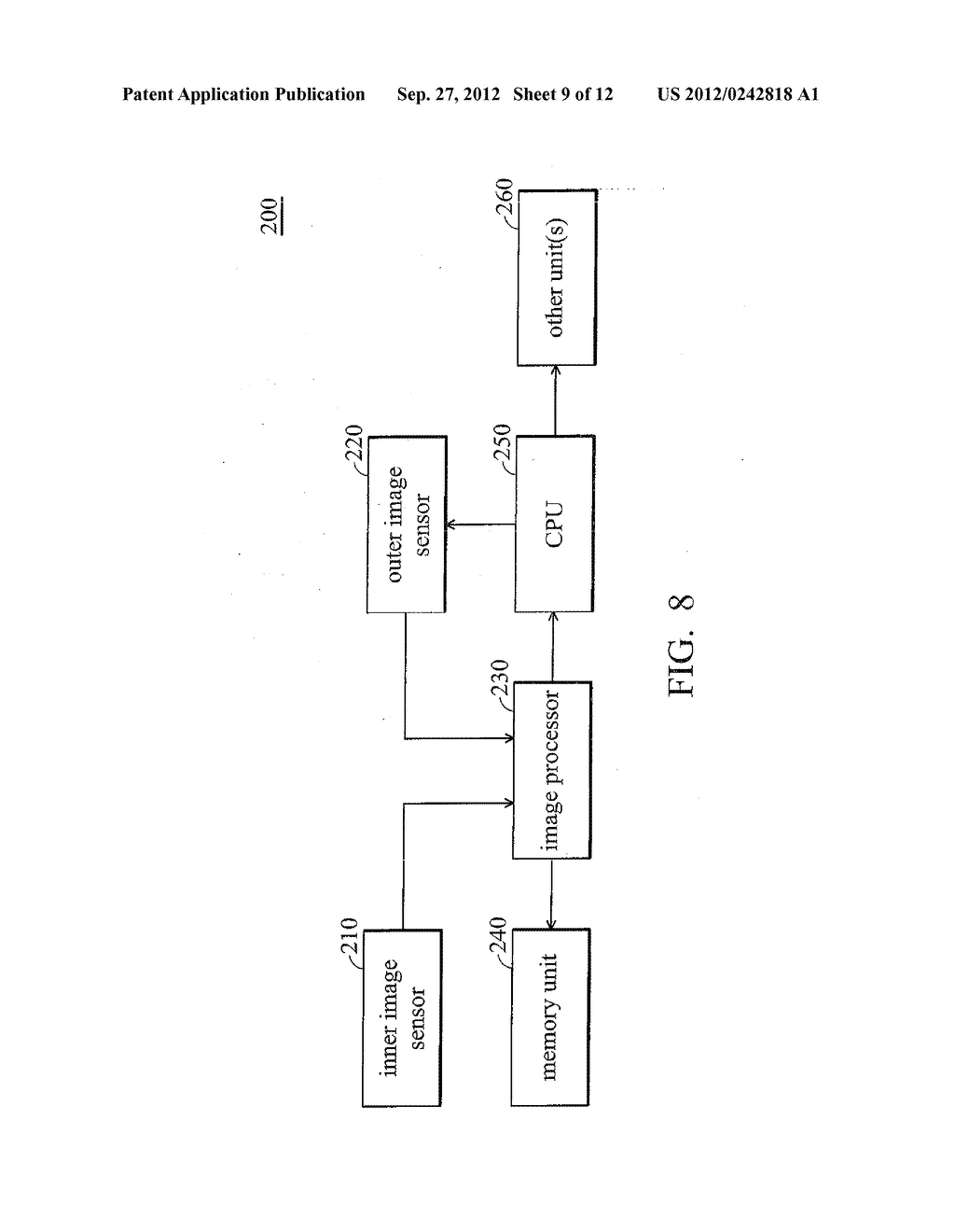METHOD FOR OPERATING ELECTRONIC DEVICE AND ELECTRONIC DEVICE USING THE     SAME - diagram, schematic, and image 10