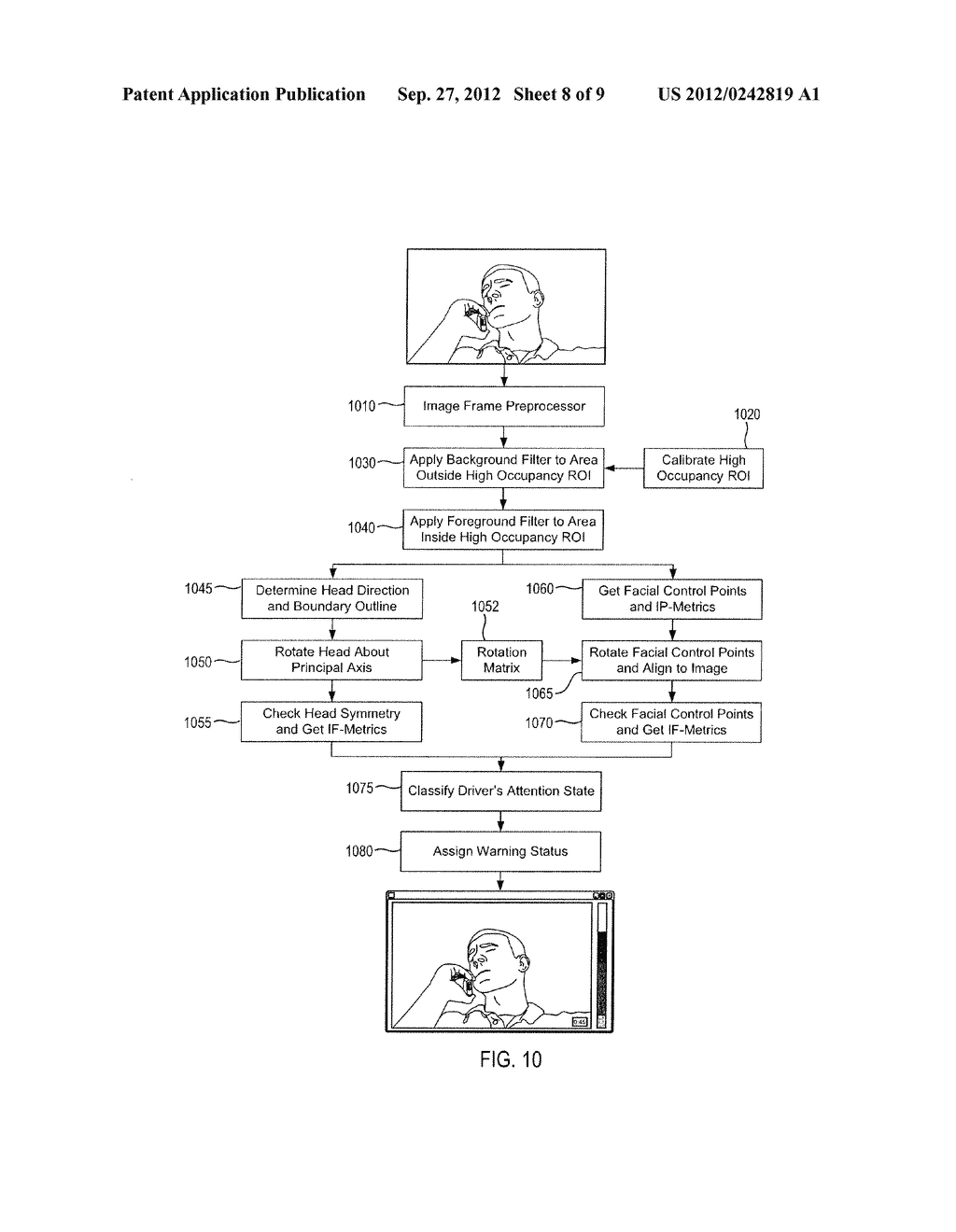 SYSTEM AND METHOD FOR DETERMINING DRIVER ALERTNESS - diagram, schematic, and image 09