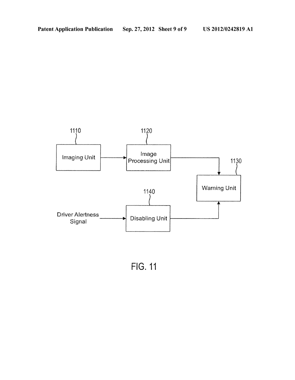 SYSTEM AND METHOD FOR DETERMINING DRIVER ALERTNESS - diagram, schematic, and image 10