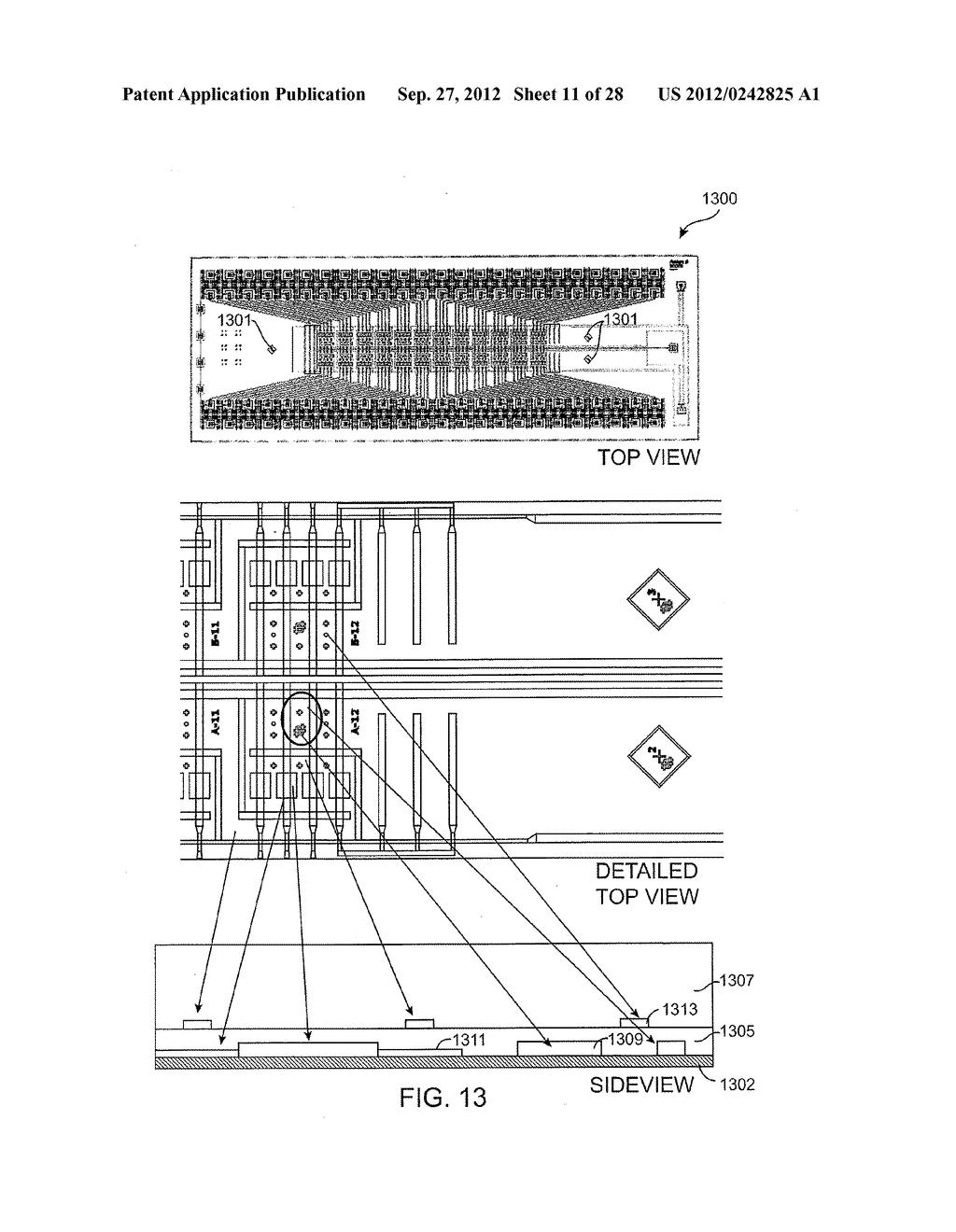 METHOD AND SYSTEM FOR MICROFLUIDIC DEVICE AND IMAGING THEREOF - diagram, schematic, and image 12