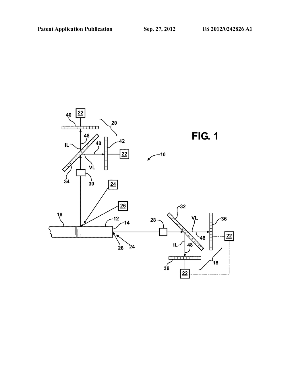 MULTI-SPECTRAL IMAGING SYSTEM AND METHOD OF SURFACE INSPECTION THEREWITH - diagram, schematic, and image 02