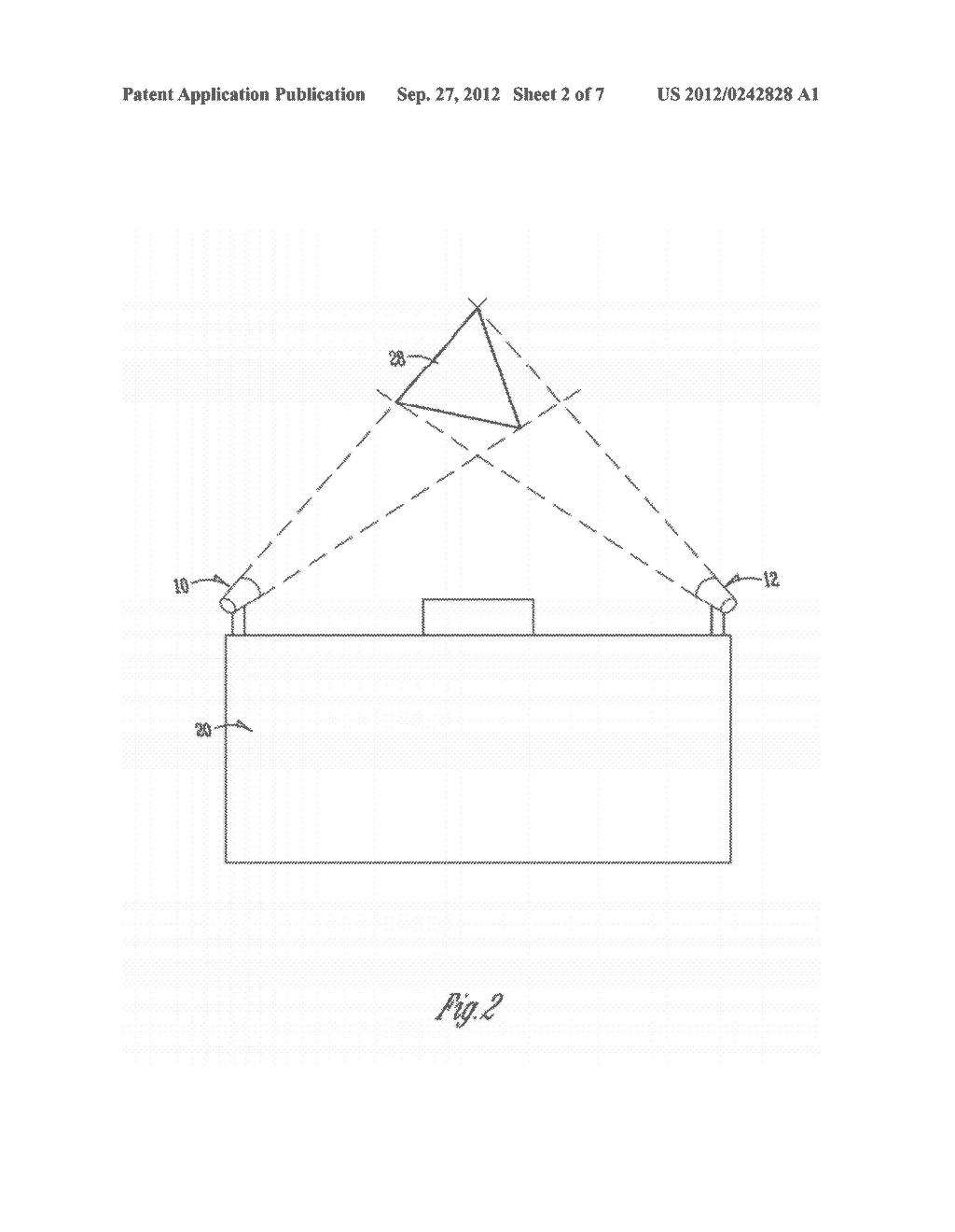 METHOD AND APPARATUS FOR ALIGNING A COMPONENT WITH A TARGET - diagram, schematic, and image 03
