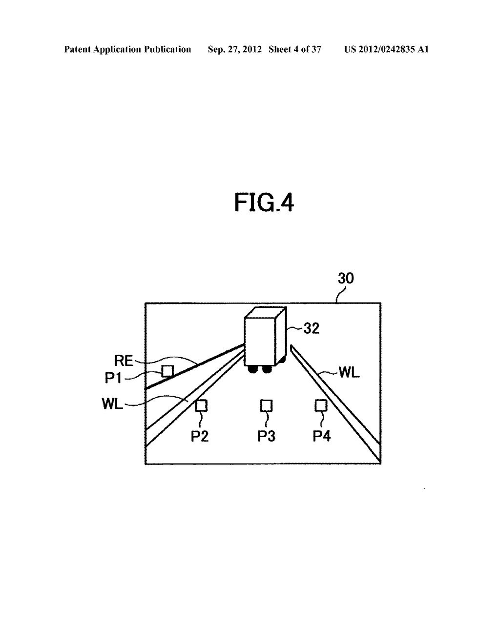 IMAGING DEVICE, ON-VEHICLE IMAGING SYSTEM, ROAD SURFACE APPEARANCE     DETECTION METHOD, AND OBJECT DETECTION DEVICE - diagram, schematic, and image 05