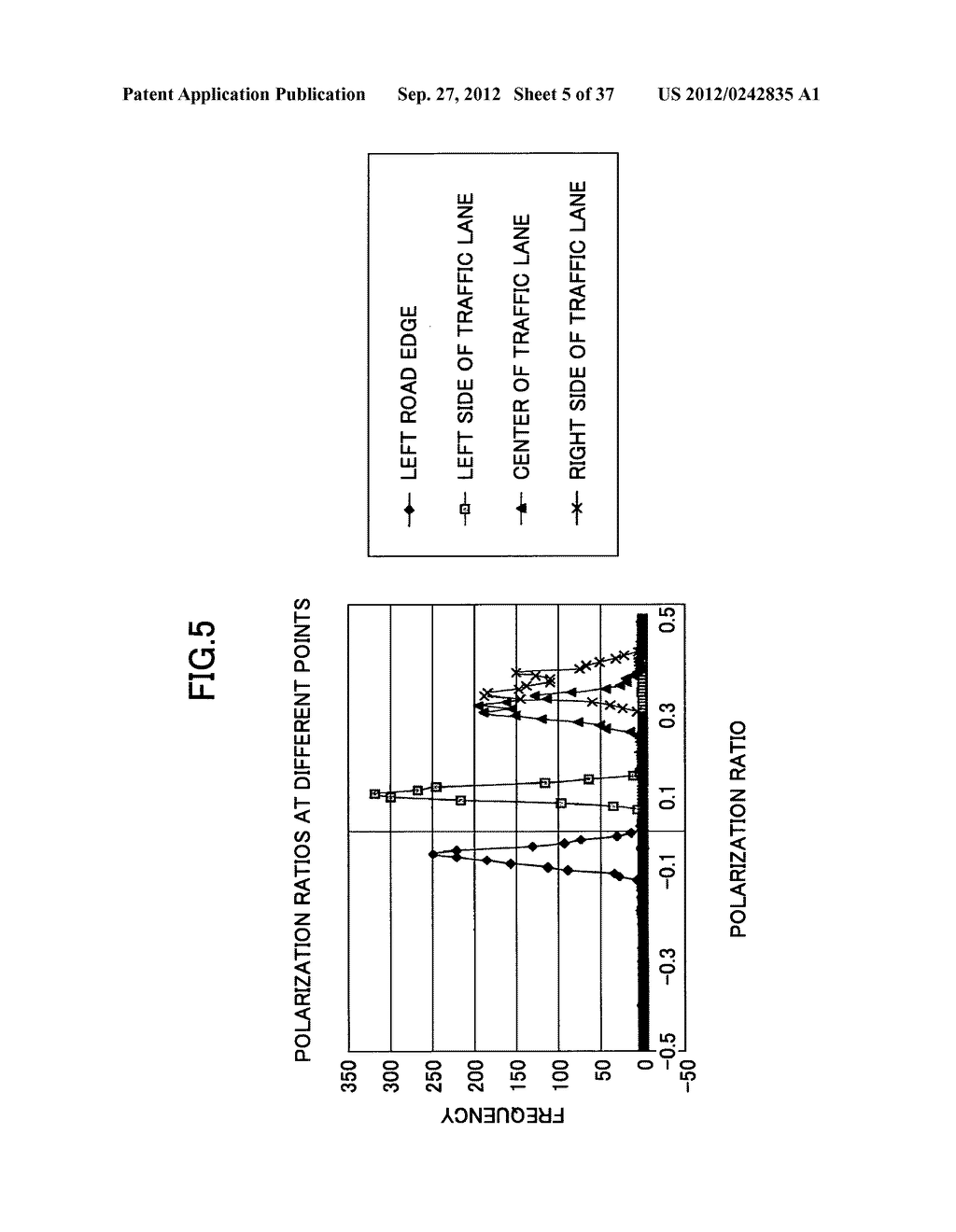 IMAGING DEVICE, ON-VEHICLE IMAGING SYSTEM, ROAD SURFACE APPEARANCE     DETECTION METHOD, AND OBJECT DETECTION DEVICE - diagram, schematic, and image 06