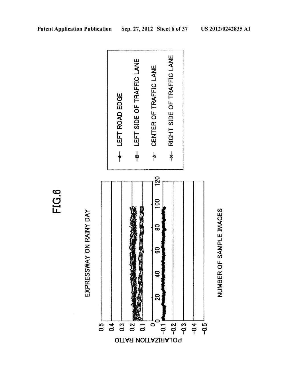 IMAGING DEVICE, ON-VEHICLE IMAGING SYSTEM, ROAD SURFACE APPEARANCE     DETECTION METHOD, AND OBJECT DETECTION DEVICE - diagram, schematic, and image 07