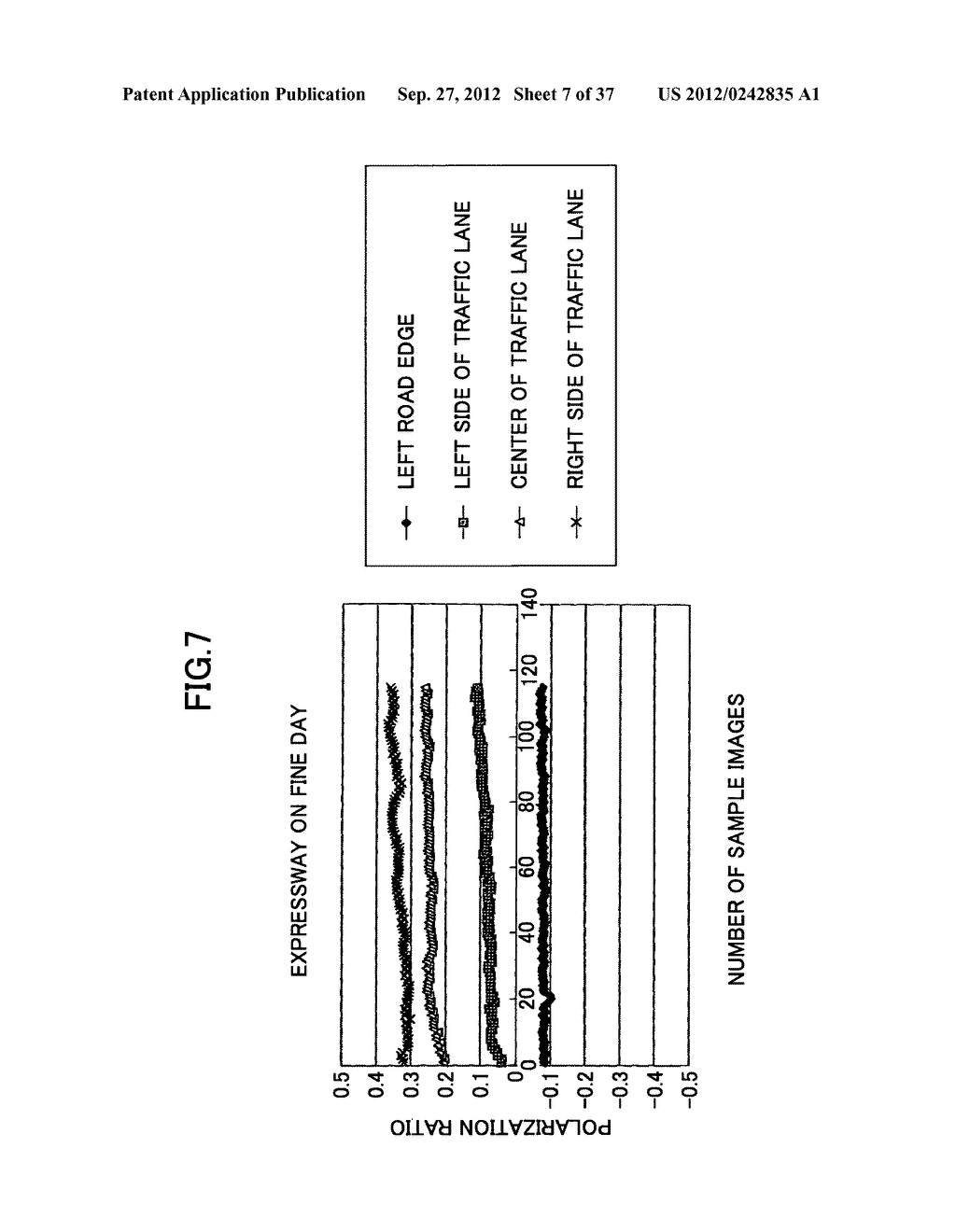 IMAGING DEVICE, ON-VEHICLE IMAGING SYSTEM, ROAD SURFACE APPEARANCE     DETECTION METHOD, AND OBJECT DETECTION DEVICE - diagram, schematic, and image 08