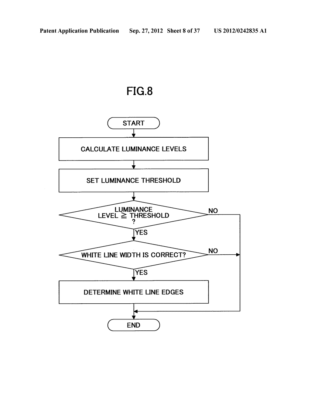 IMAGING DEVICE, ON-VEHICLE IMAGING SYSTEM, ROAD SURFACE APPEARANCE     DETECTION METHOD, AND OBJECT DETECTION DEVICE - diagram, schematic, and image 09