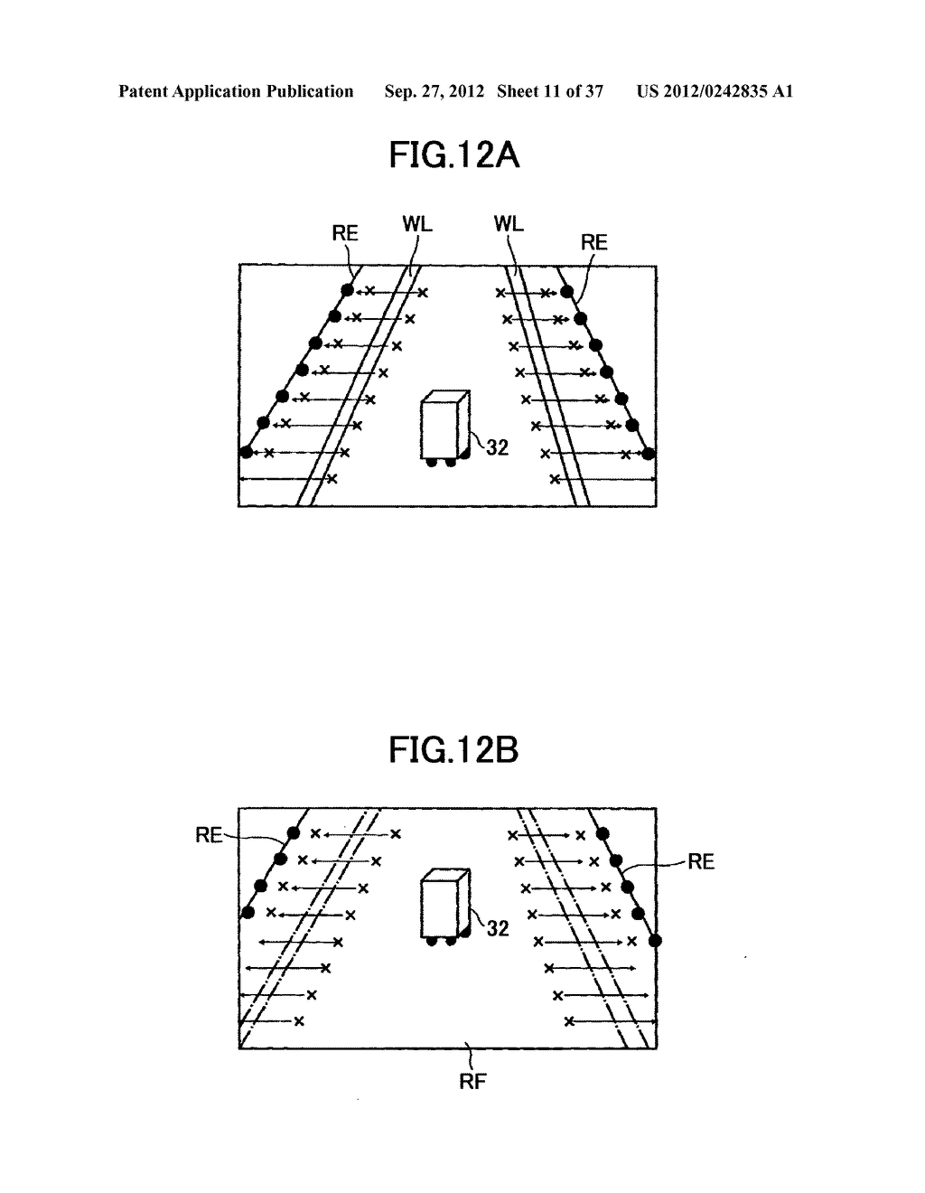 IMAGING DEVICE, ON-VEHICLE IMAGING SYSTEM, ROAD SURFACE APPEARANCE     DETECTION METHOD, AND OBJECT DETECTION DEVICE - diagram, schematic, and image 12