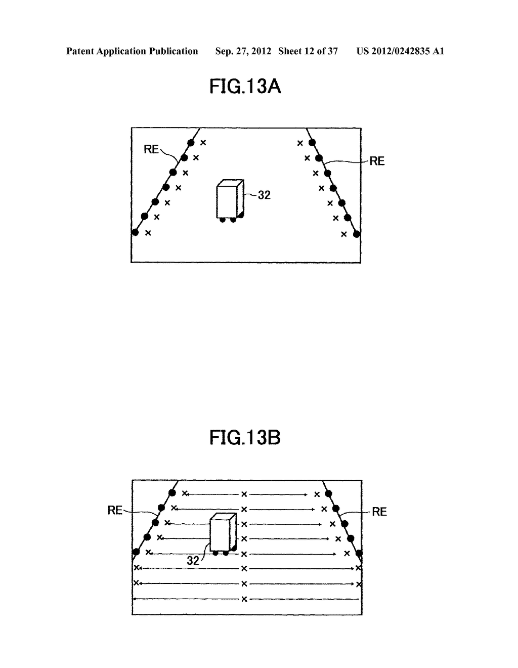 IMAGING DEVICE, ON-VEHICLE IMAGING SYSTEM, ROAD SURFACE APPEARANCE     DETECTION METHOD, AND OBJECT DETECTION DEVICE - diagram, schematic, and image 13