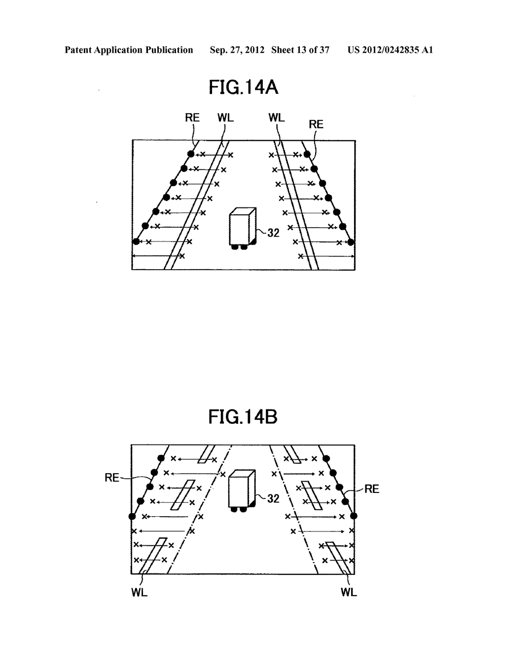 IMAGING DEVICE, ON-VEHICLE IMAGING SYSTEM, ROAD SURFACE APPEARANCE     DETECTION METHOD, AND OBJECT DETECTION DEVICE - diagram, schematic, and image 14