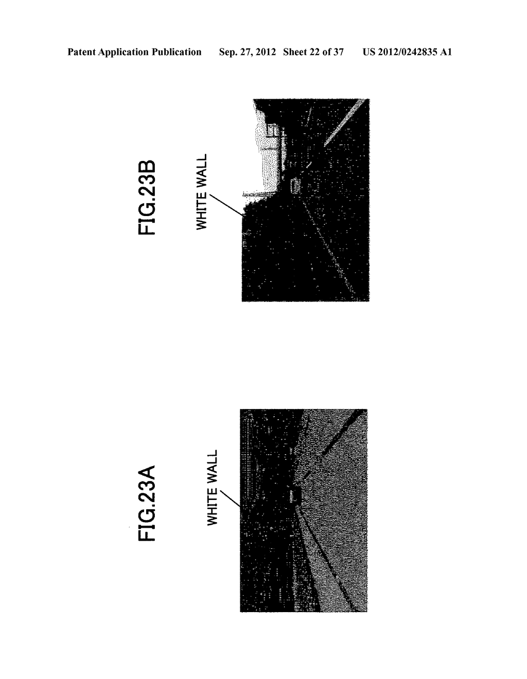 IMAGING DEVICE, ON-VEHICLE IMAGING SYSTEM, ROAD SURFACE APPEARANCE     DETECTION METHOD, AND OBJECT DETECTION DEVICE - diagram, schematic, and image 23