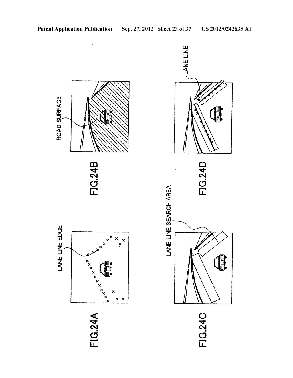 IMAGING DEVICE, ON-VEHICLE IMAGING SYSTEM, ROAD SURFACE APPEARANCE     DETECTION METHOD, AND OBJECT DETECTION DEVICE - diagram, schematic, and image 24