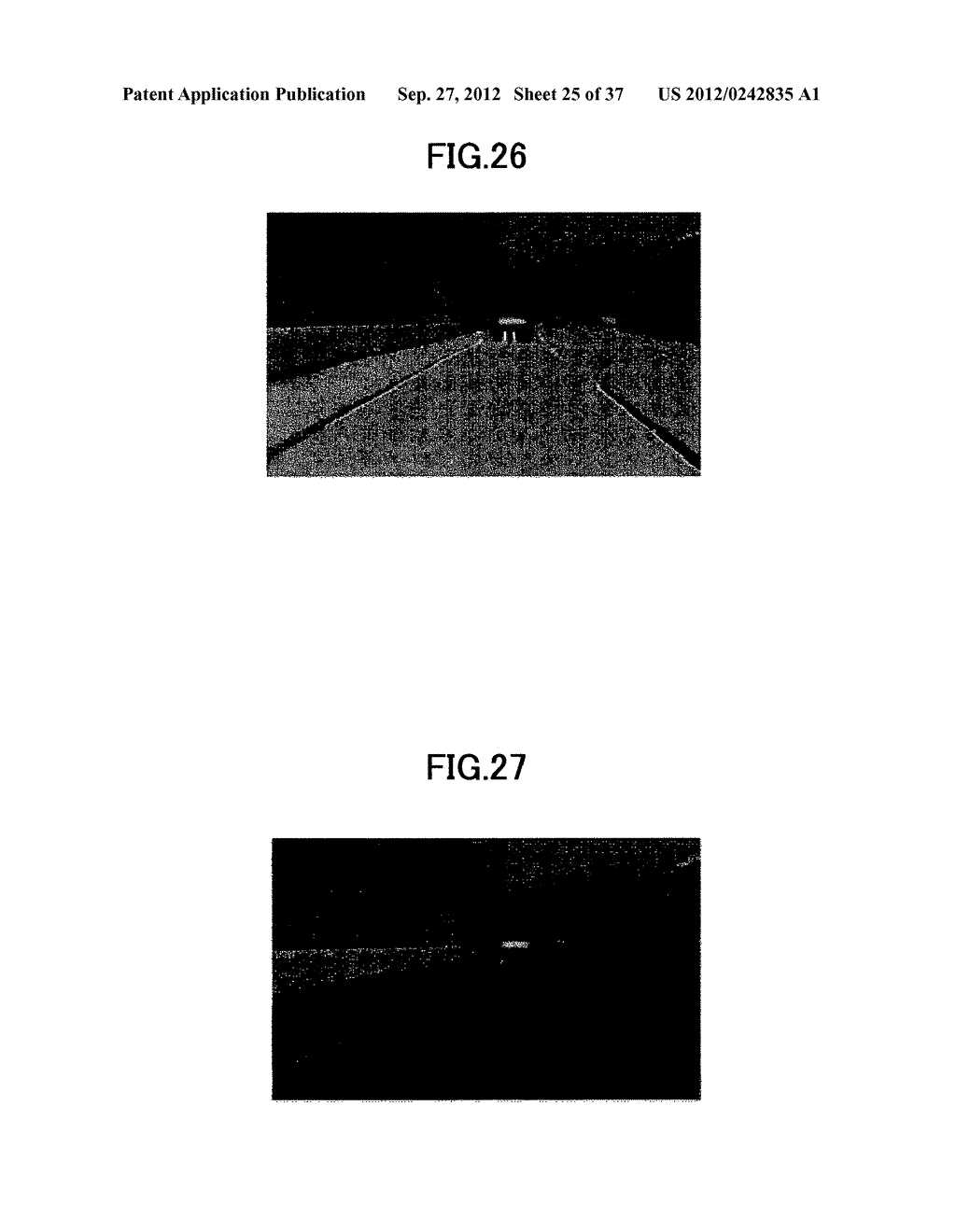 IMAGING DEVICE, ON-VEHICLE IMAGING SYSTEM, ROAD SURFACE APPEARANCE     DETECTION METHOD, AND OBJECT DETECTION DEVICE - diagram, schematic, and image 26