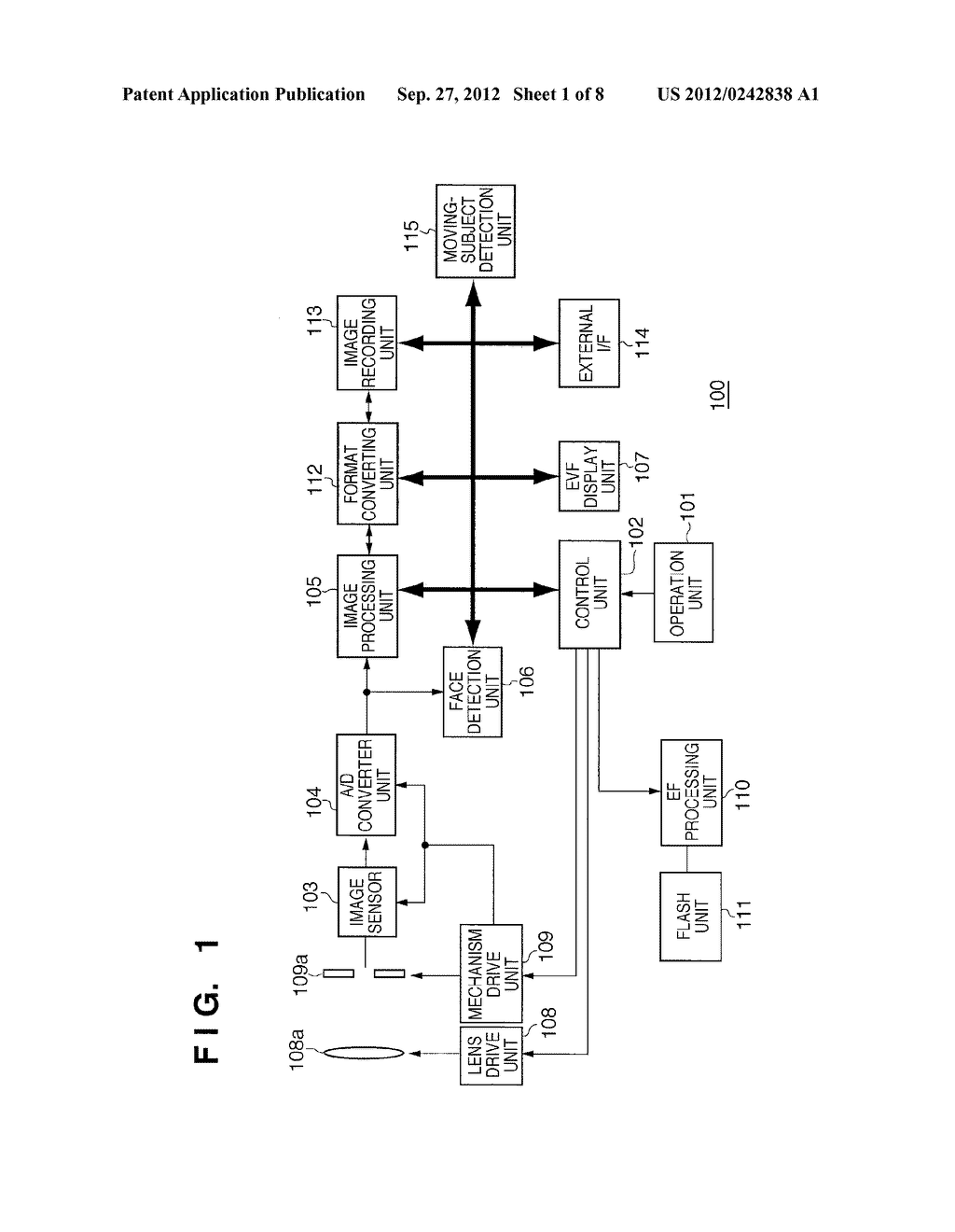 IMAGE CAPTURING APPARATUS AND METHOD FOR CONTROLLING THE SAME - diagram, schematic, and image 02