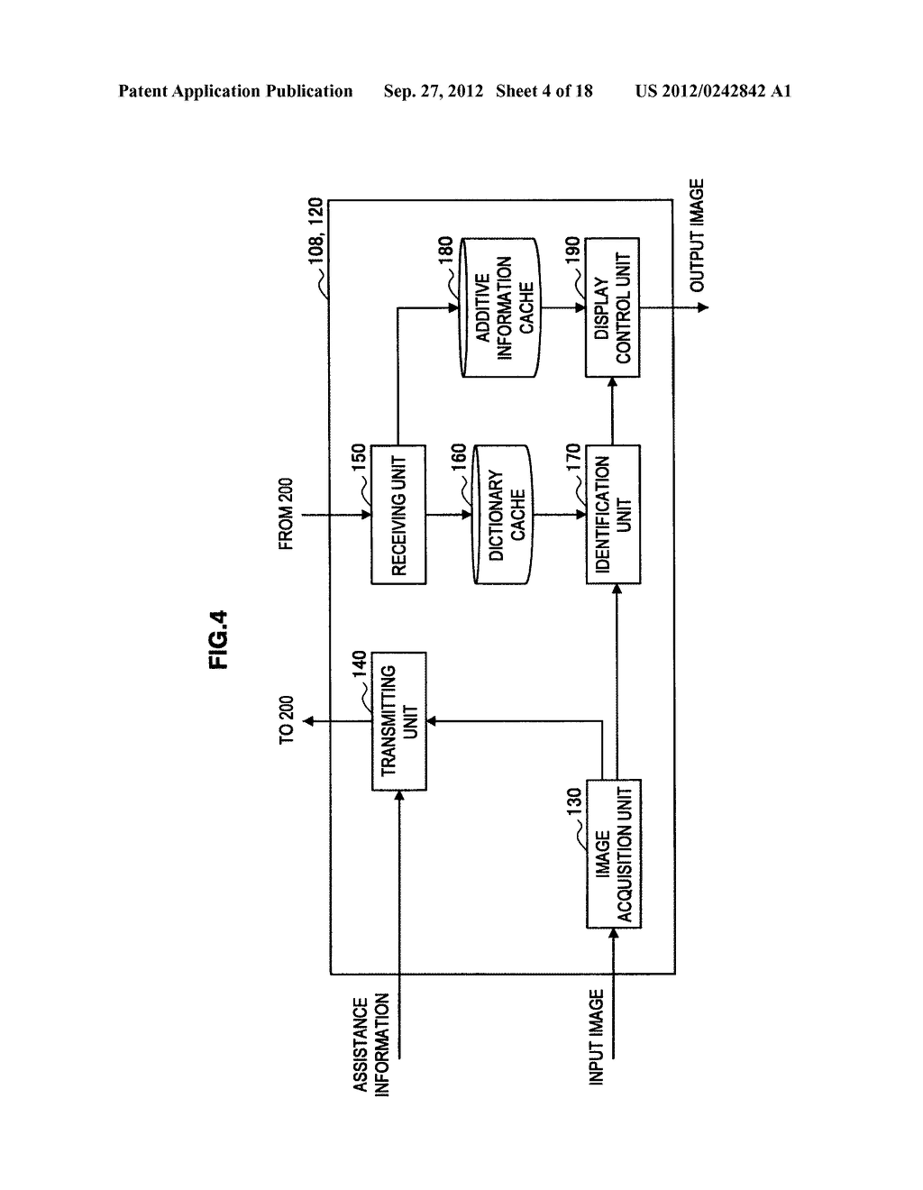 TERMINAL DEVICE, INFORMATION PROCESSING DEVICE, OBJECT IDENTIFYING METHOD,     PROGRAM, AND OBJECT IDENTIFYING SYSTEM - diagram, schematic, and image 05
