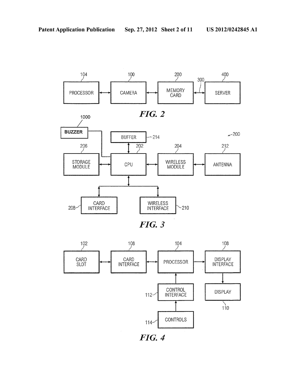 MEMORY CARD AND METHOD FOR STORAGE AND WIRELESS TRANSCEIVING OF DATA - diagram, schematic, and image 03
