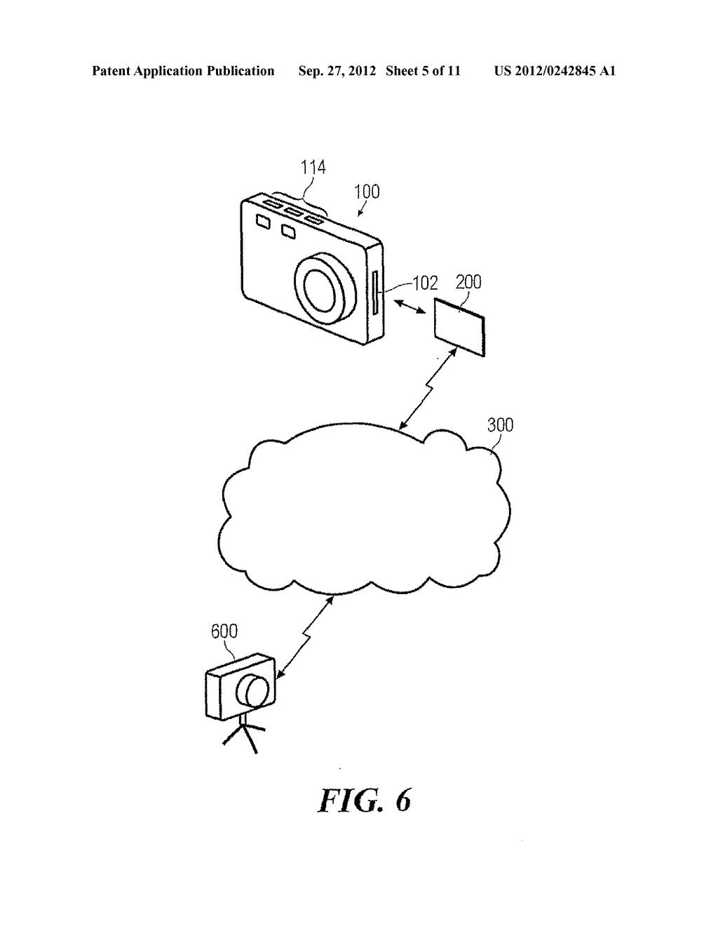 MEMORY CARD AND METHOD FOR STORAGE AND WIRELESS TRANSCEIVING OF DATA - diagram, schematic, and image 06