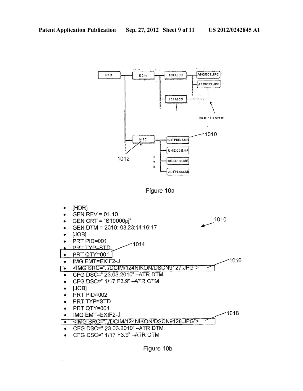 MEMORY CARD AND METHOD FOR STORAGE AND WIRELESS TRANSCEIVING OF DATA - diagram, schematic, and image 10