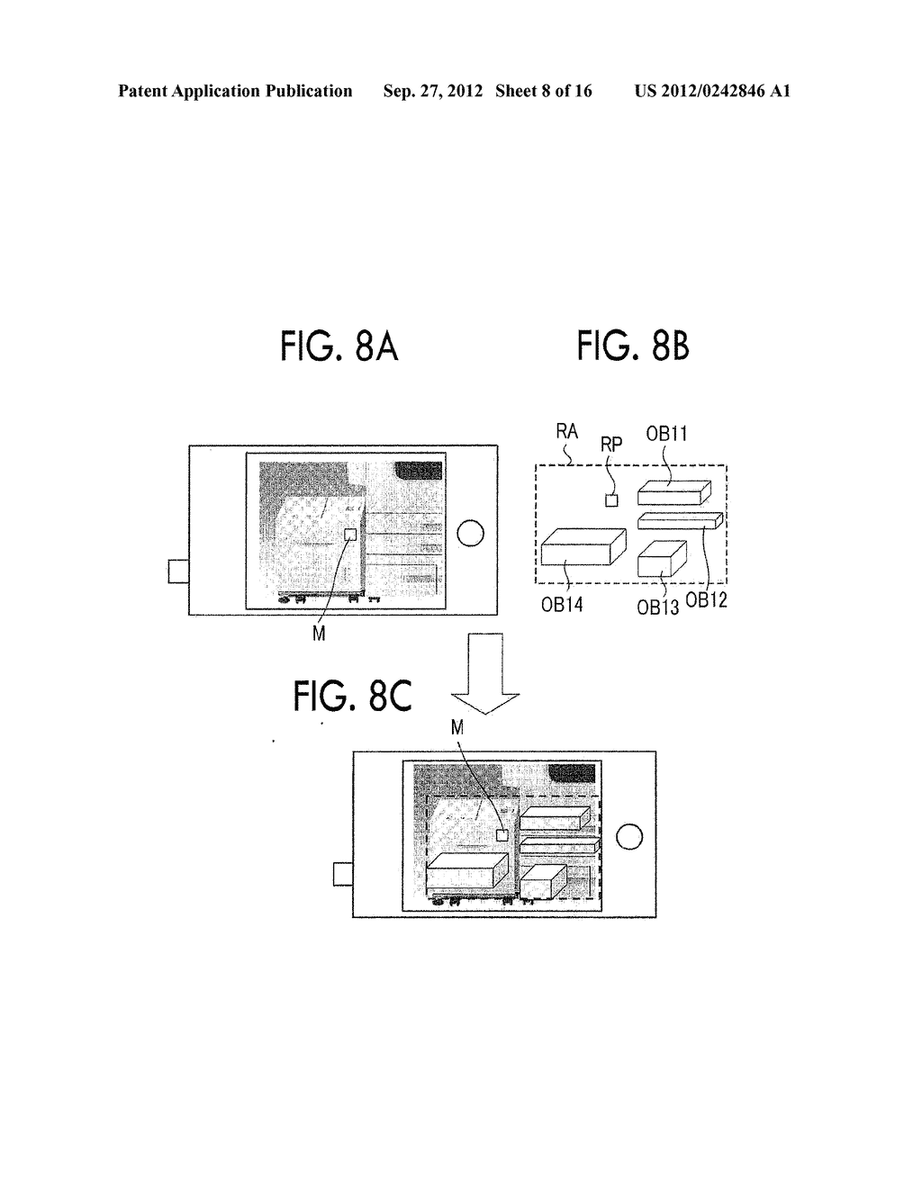 IMAGE DISPLAY DEVICE, MOBILE TERMINAL, NON-TRANSITORY COMPUTER READABLE     MEDIUM, AND IMAGE DISPLAY METHOD - diagram, schematic, and image 09